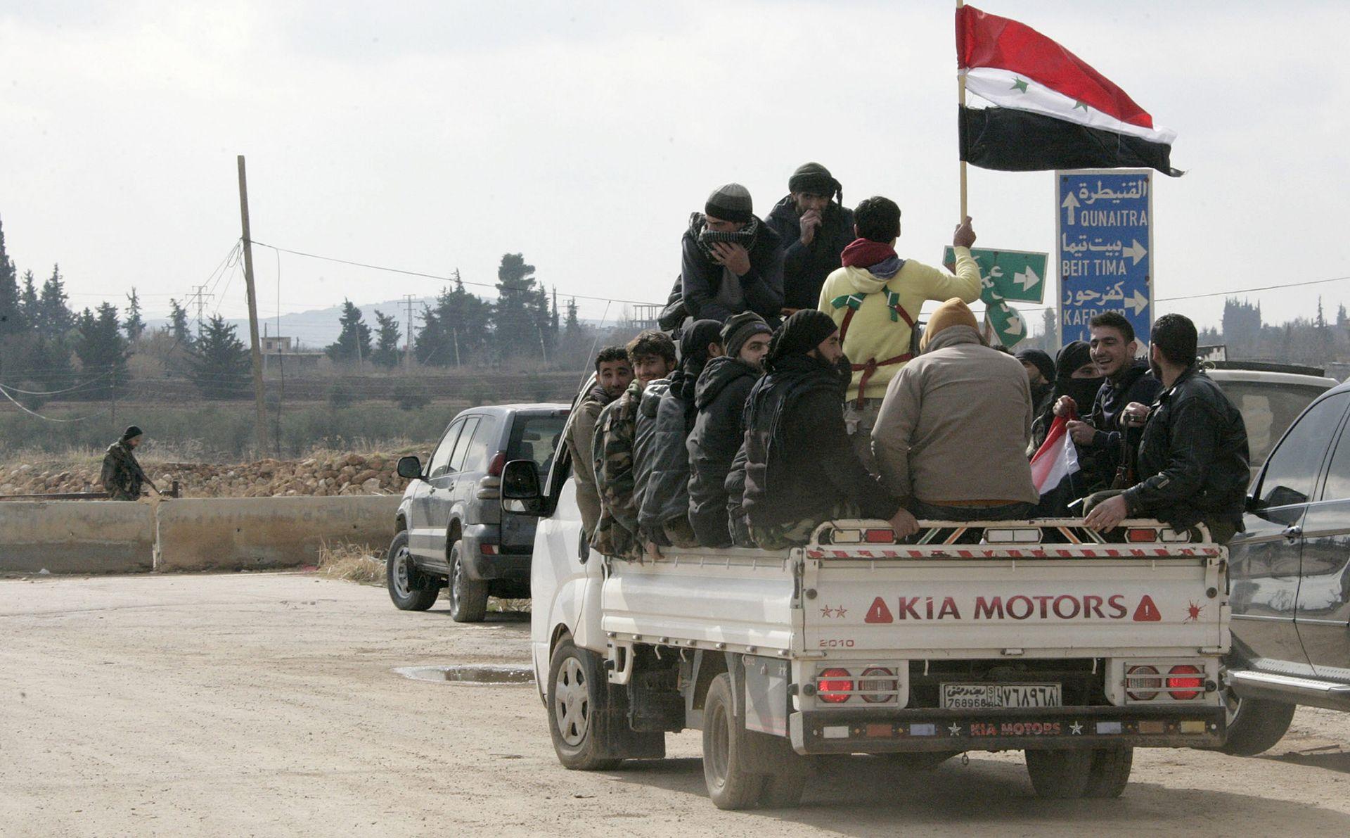 SIRIJA Žestoke borbe u Guti, režimske snage u naletu