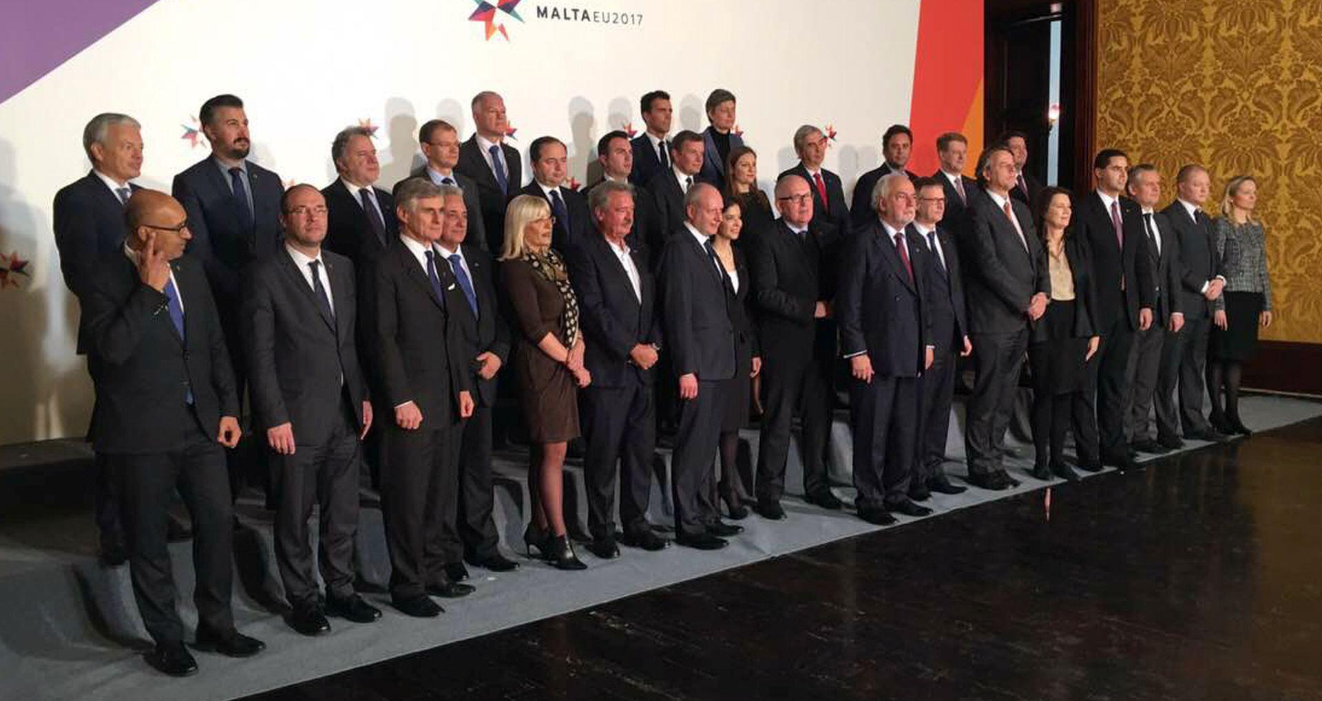 MALTA Stier na neformalnom sastanku s kolegama iz EU-a