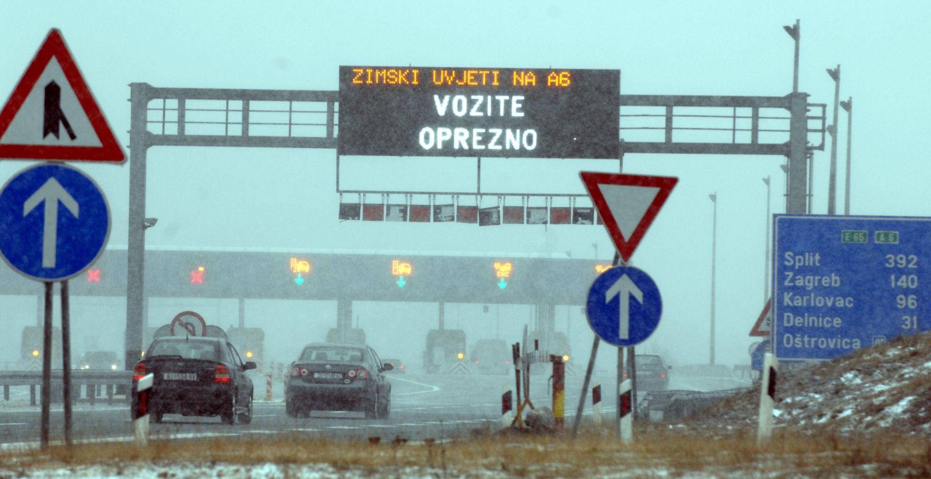 HAK UPOZORAVA: Olujni vjetar otežava promet u Istri, Hrvatskom primorju i Dalmaciji