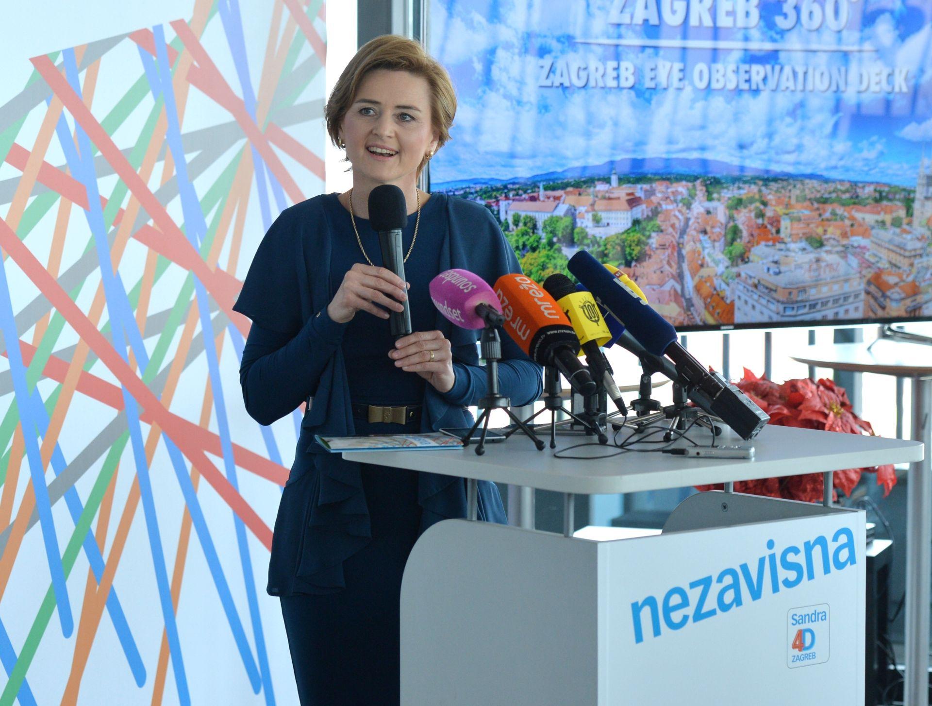 'RAZVOJ U 4D': Švaljek predstavila politički program i stručni tim za Zagreb