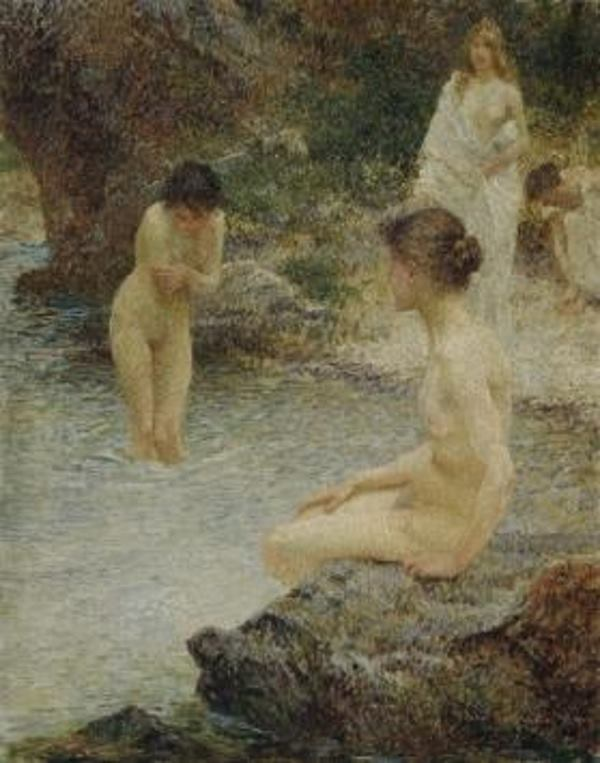 Vlaho Bukovac, Sredina ljeta, 1903