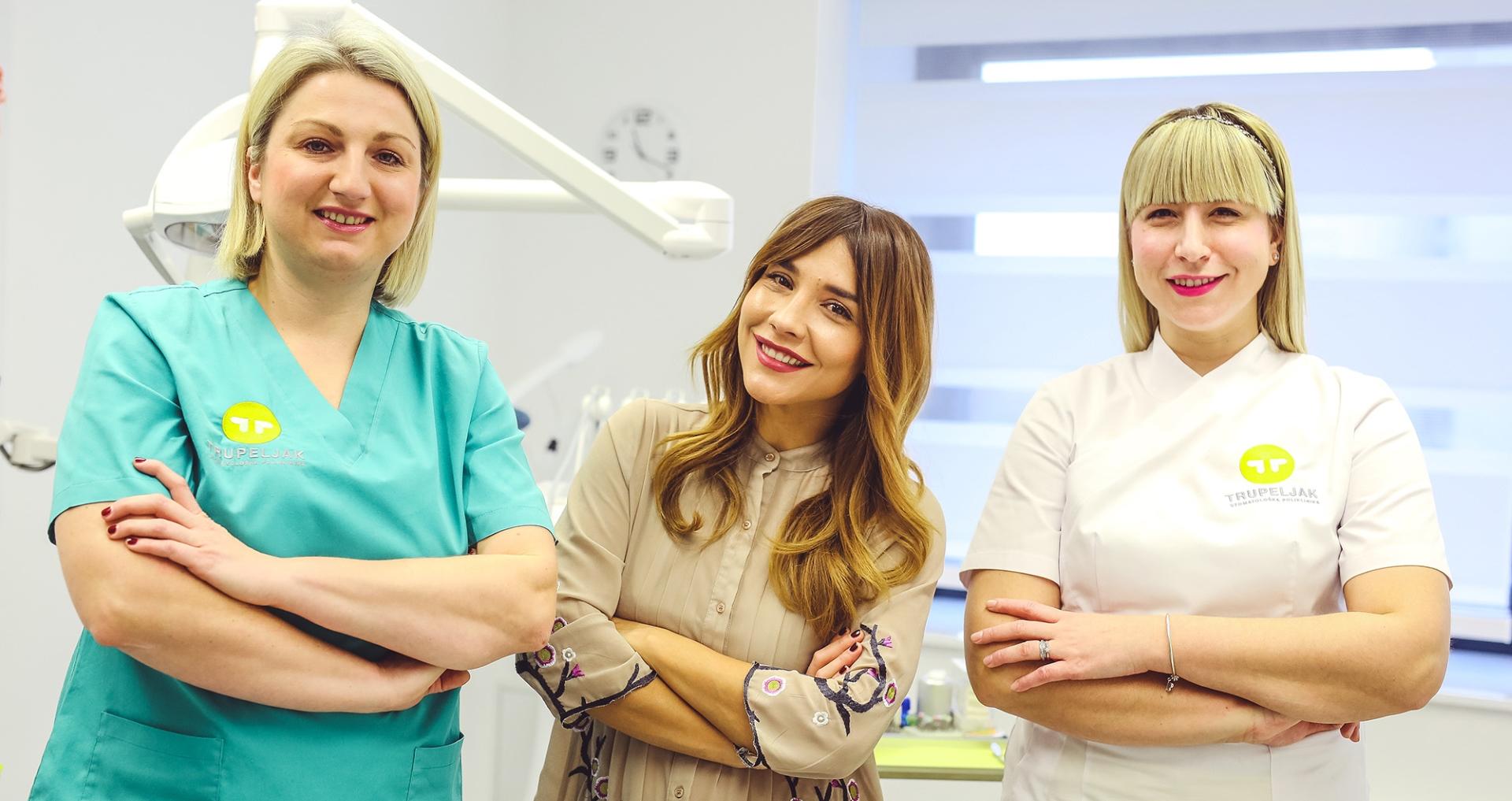 FOTO: Marijana Batinić pobjedila 'strah od zubara'