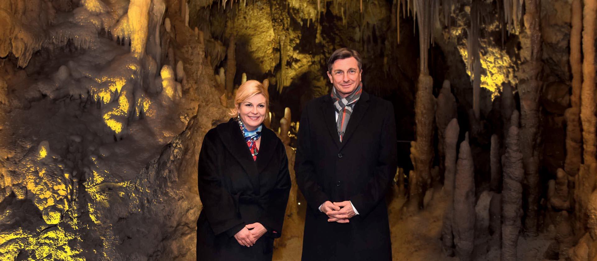 Špiljski susret Kolinde GrabarKitarović i Boruta Pahora