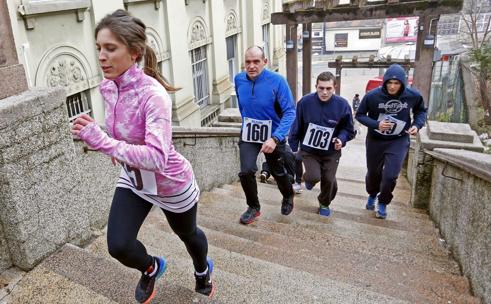 ZAGREB Tradicionalna utrka '162 stube' u subotu, 11. veljače