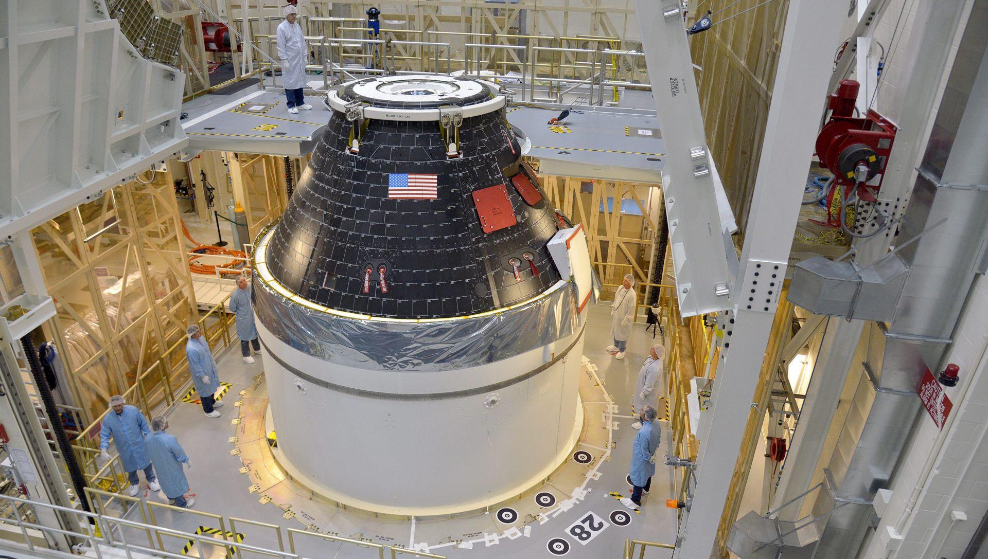 NASA razmišlja o slanju posade kapsulom Orion