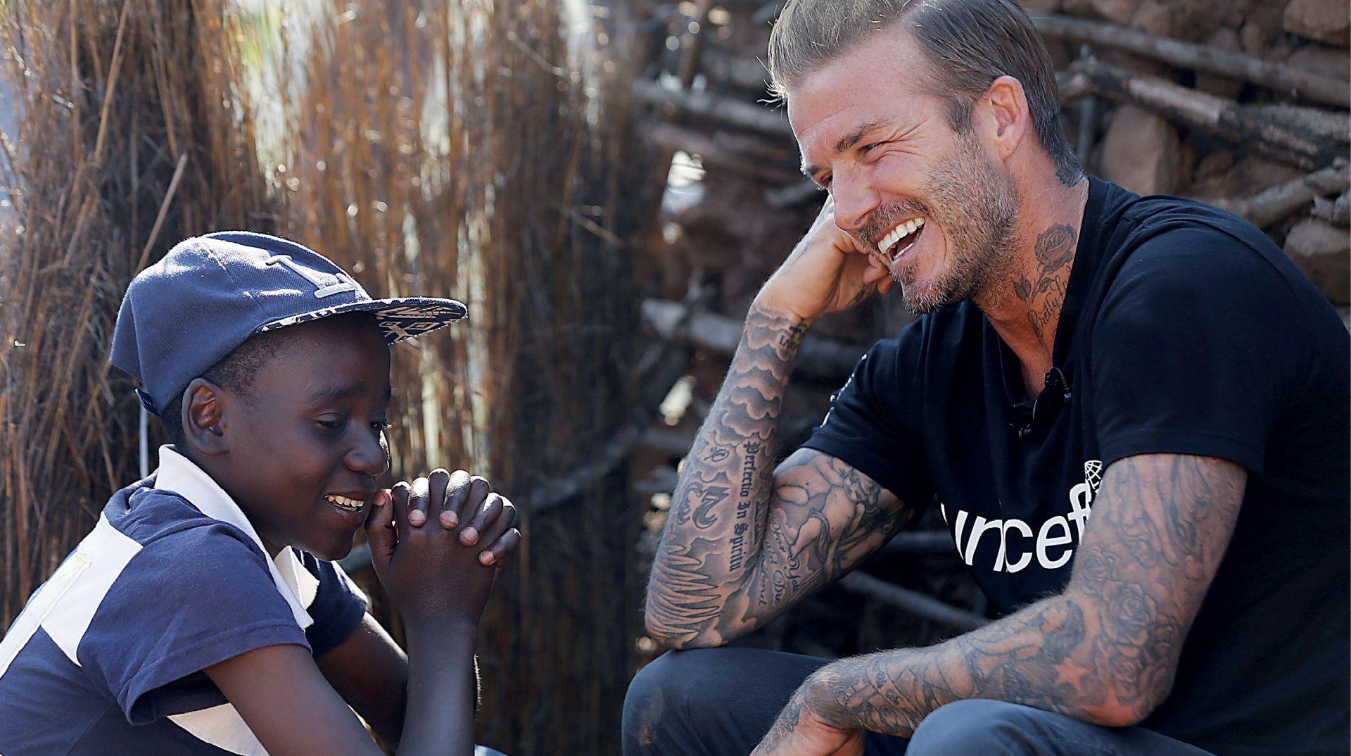 NACIONAL EKSKLUZIVNO: TAMNA STRANA DAVIDA BECKHAMA: UNICEF je koristio za vlastitu promociju