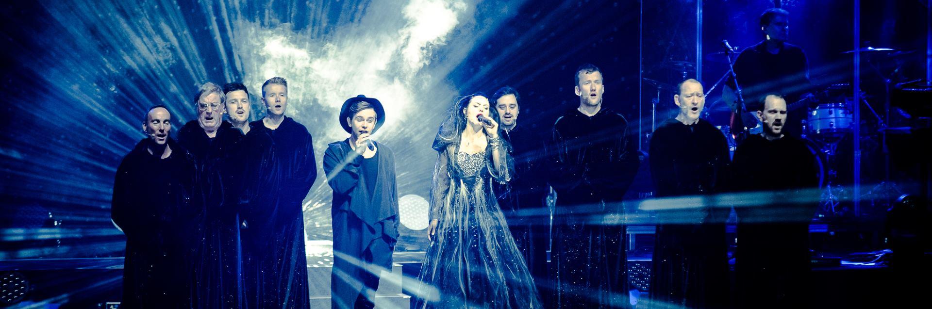 FOTO: Gregoriani u Areni Zagreb napravili spektakl za pamćenje