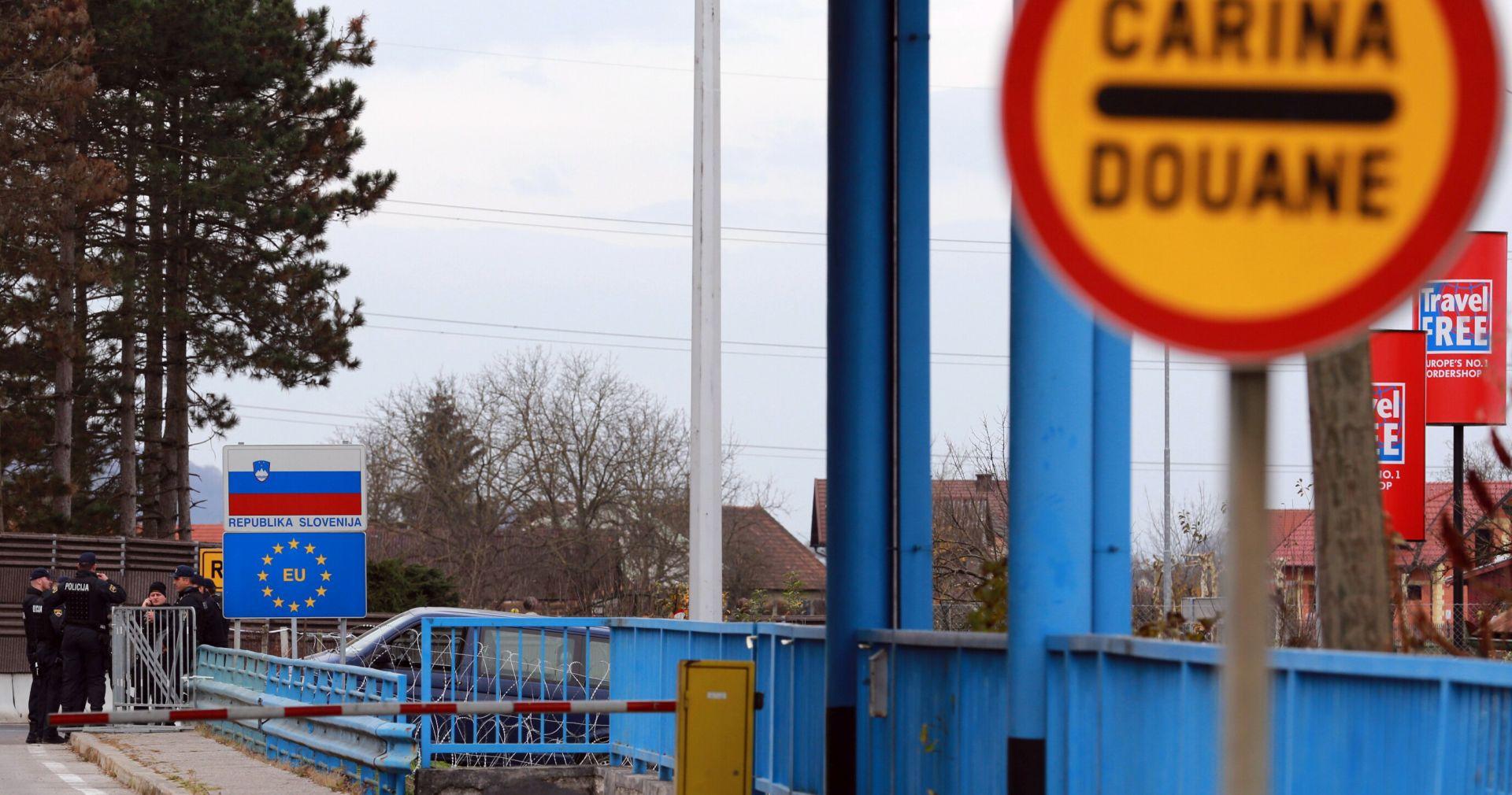 Istarska granična policija zatekla 20 migranata u teretnom vozilu