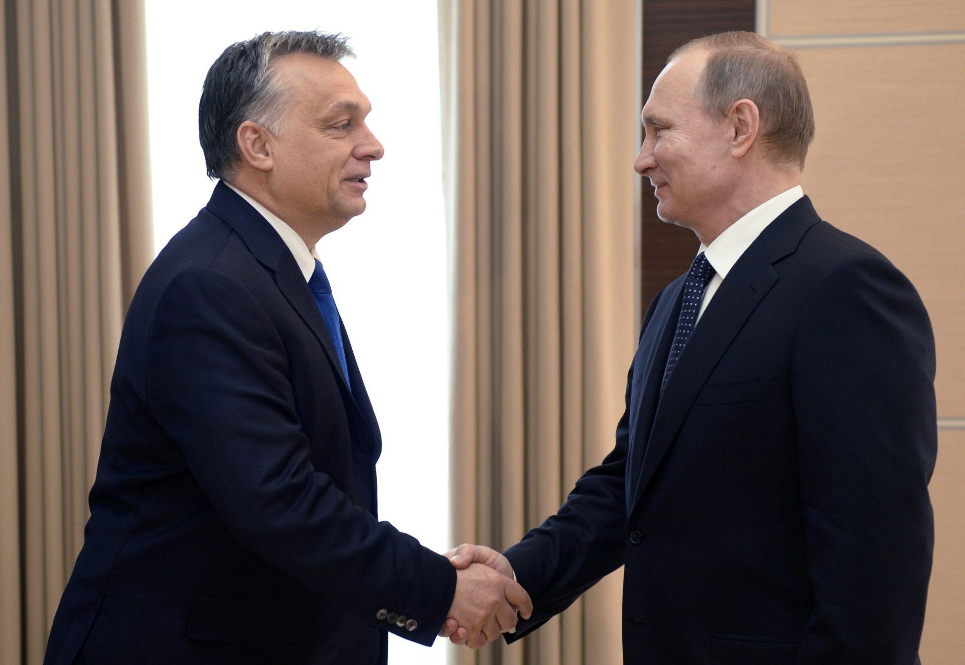 Putin u Mađarskoj u posjetu savezniku Orbanu
