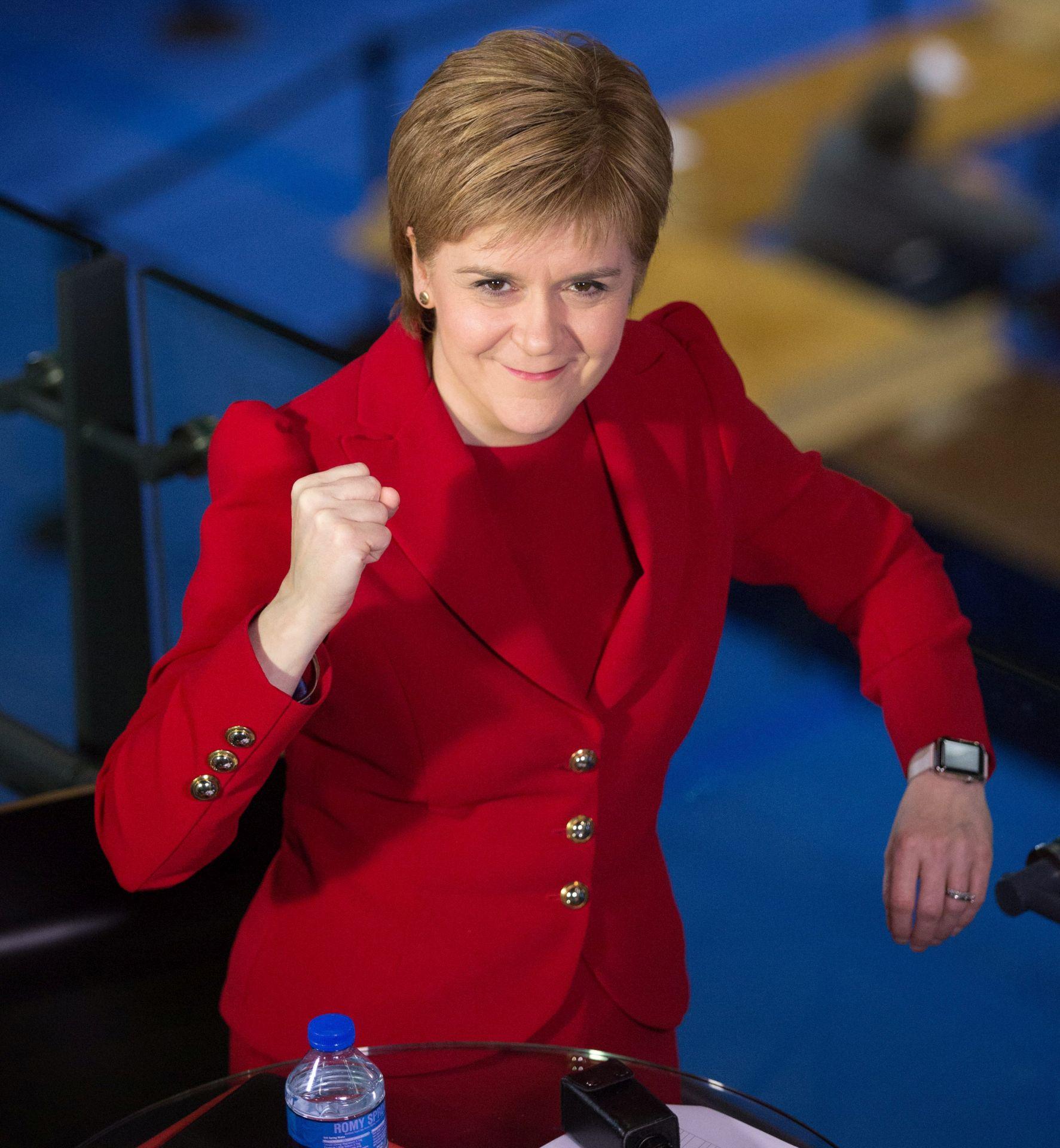 STURGEON 'Pokušaj blokiranja škotskog referenduma o neovisnosti mogao bi propasti'