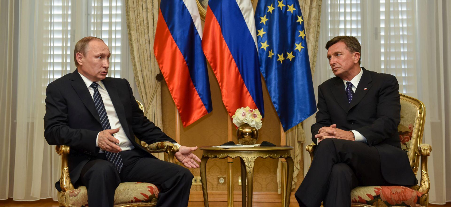 Pahor predložio Putinu da se s Trumpom sastane u Ljubljani