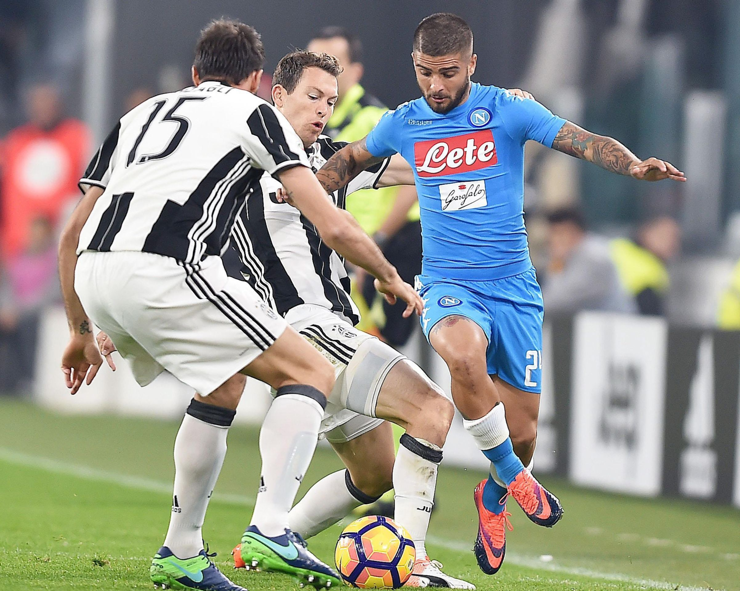 KUP Juventus – Napoli 3-1