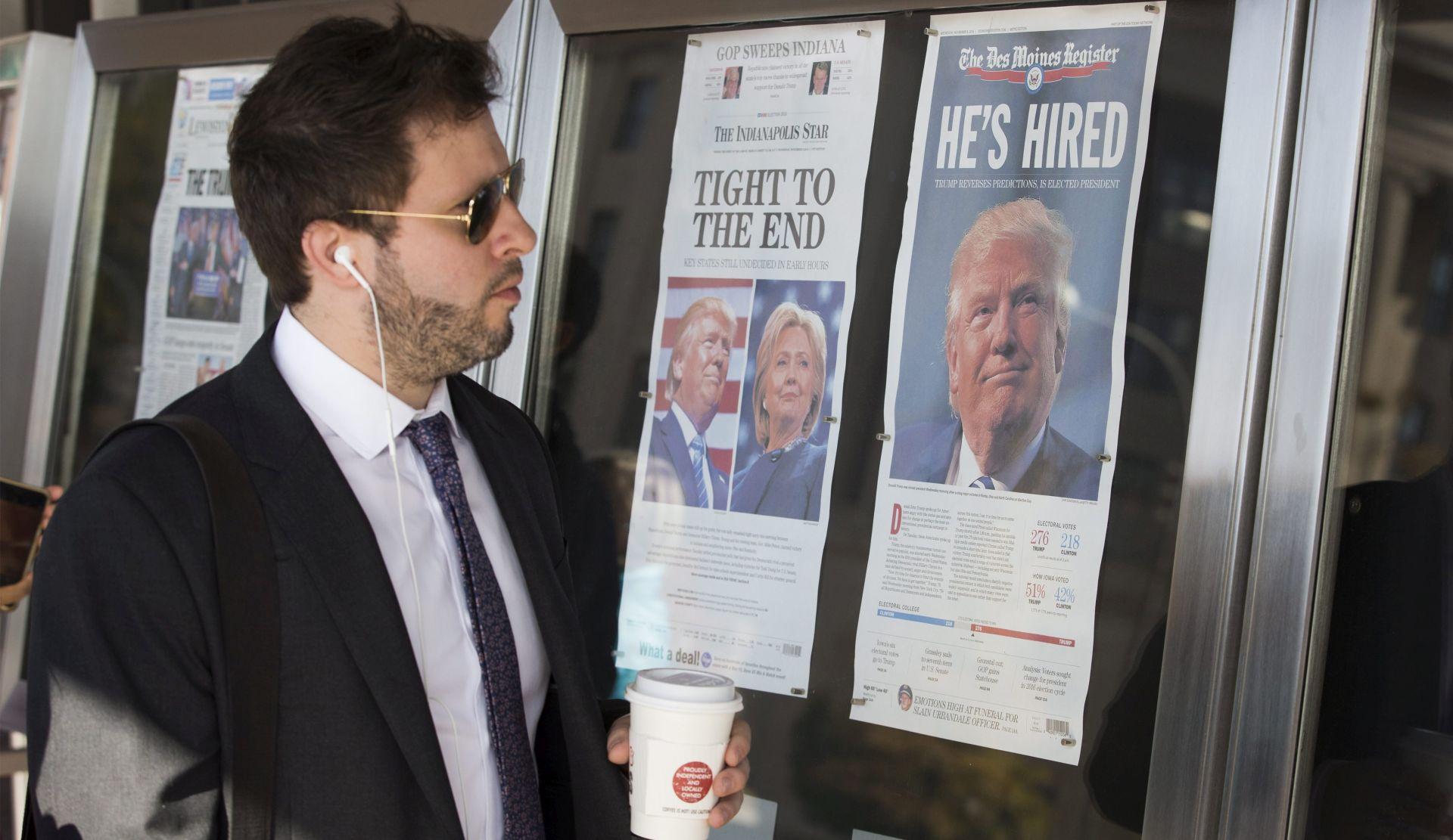 Američki mediji sve popularniji unatoč Trumpovim kritikama