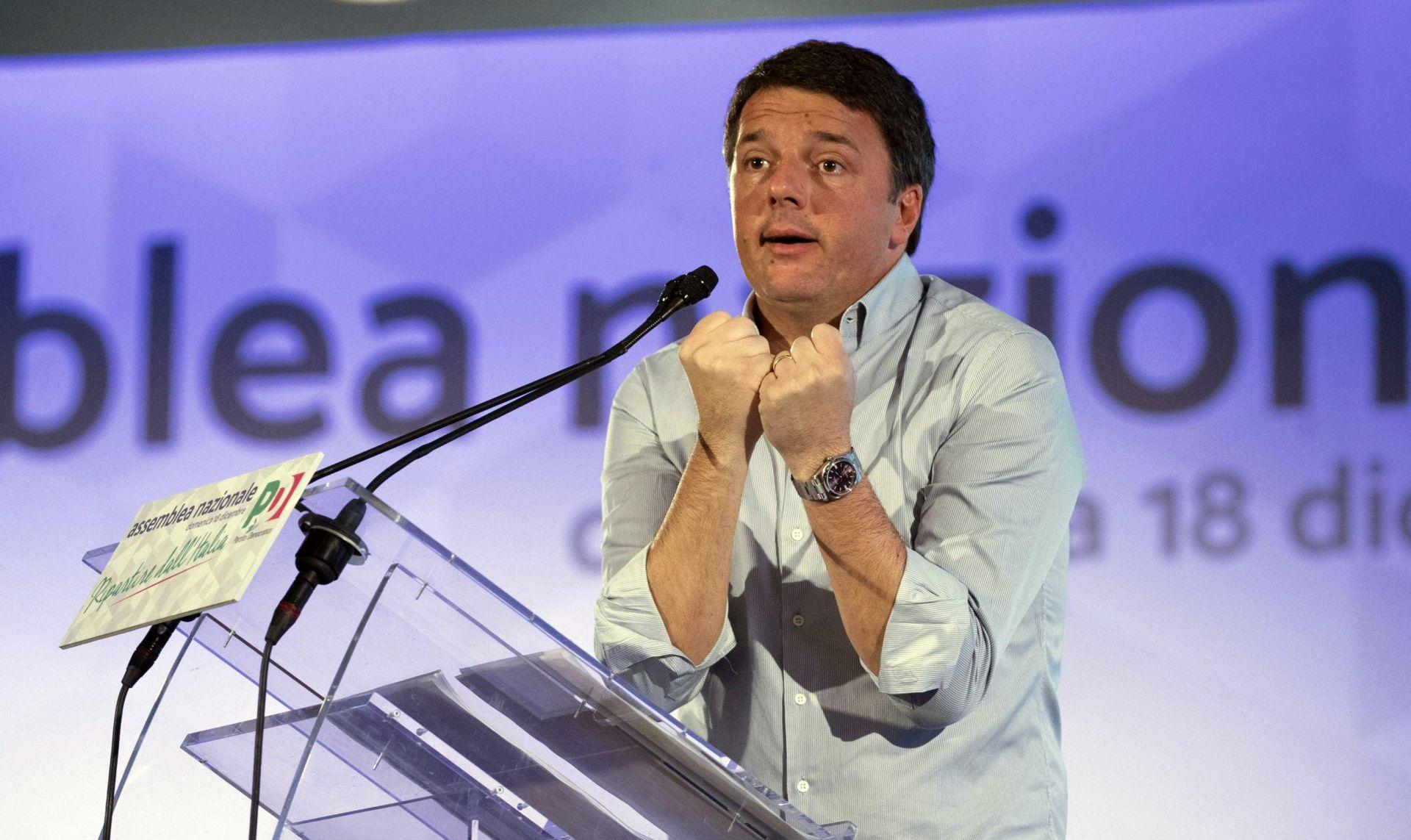 Matteo Renzi dao ostavku na dužnost predsjednika stranke i nada se povratku