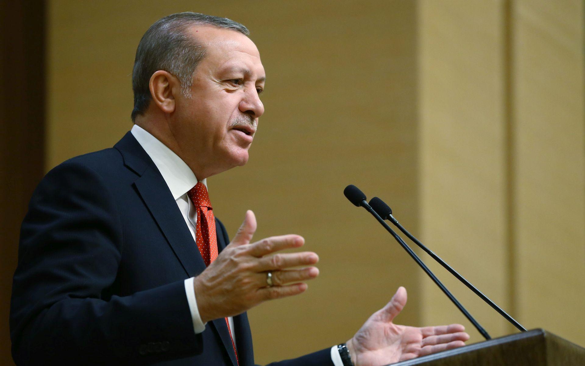 Erdogan želi sigurnu zonu na sjeveru Sirije