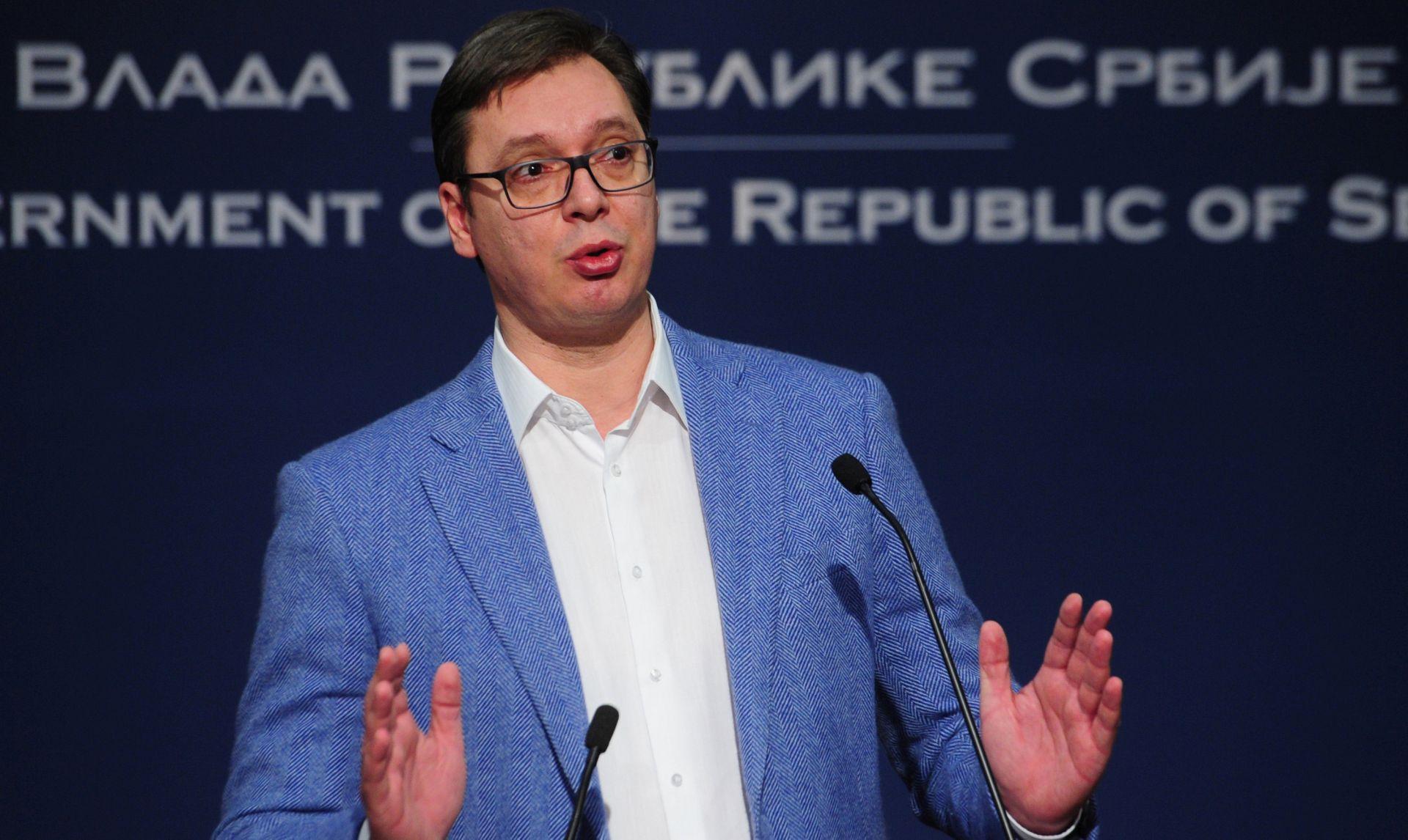 VUČIĆ 'Ne isključujem parlamentarne izbore, ne znam tko će biti premijer'