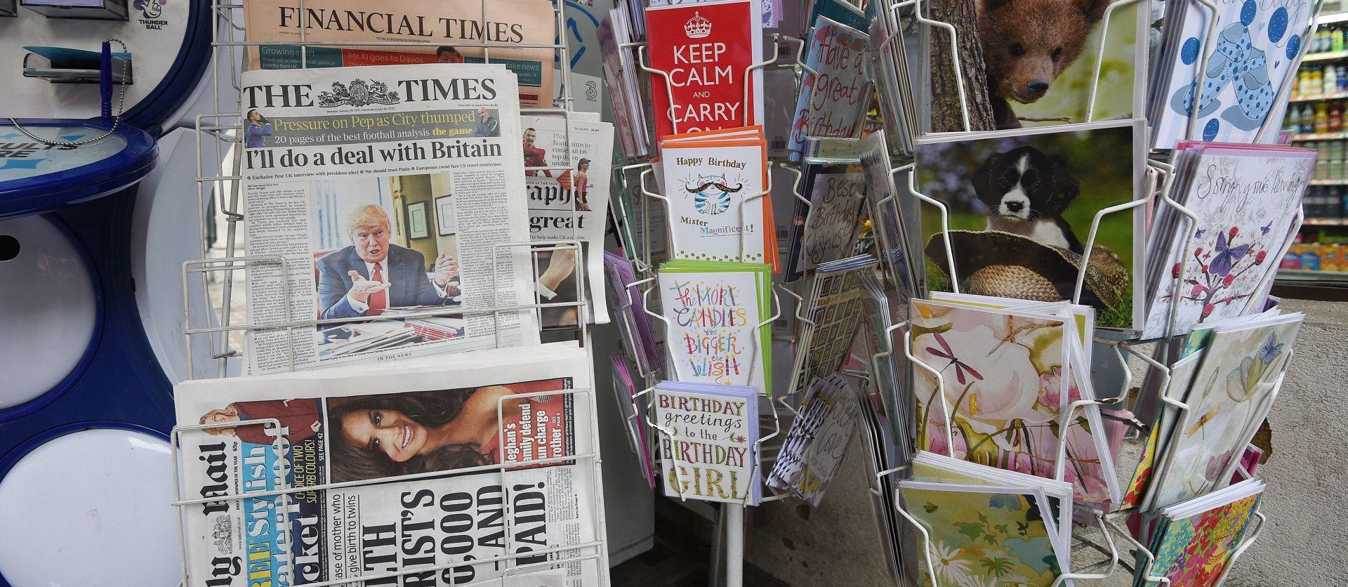 U New Yorku prvi skup podrške medijima nakon napada Trumpa
