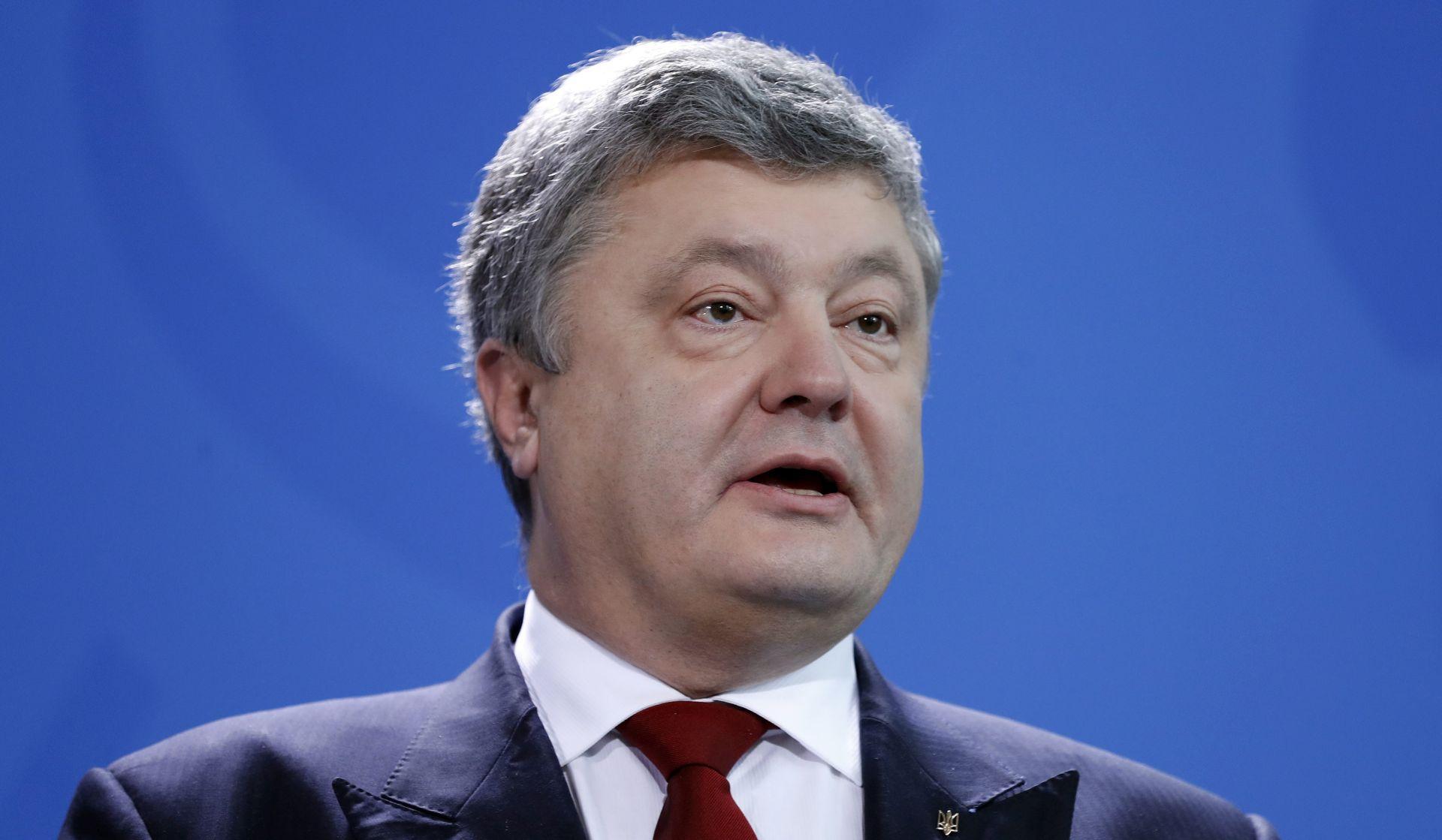 Porošenko obećava referendum o članstvu u NATO-u