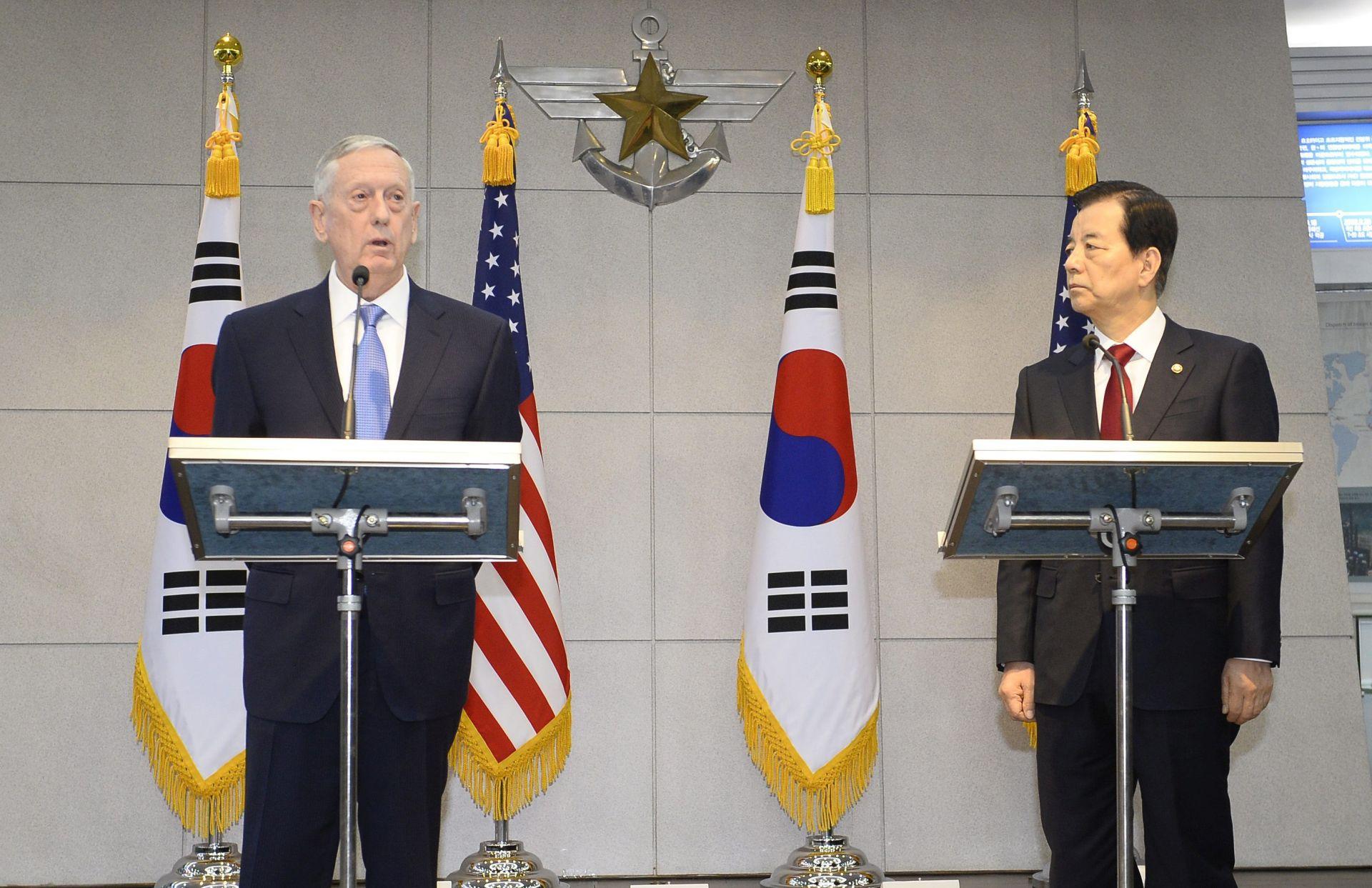 Mattis rekao da bi SAD nadmoćno uzvratio Sjevernoj Koreji
