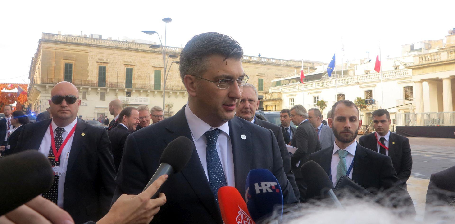 Plenković kaže da ne zna ništa o 'jadranskoj' migrantskoj ruti koju spominje slovenski premijer