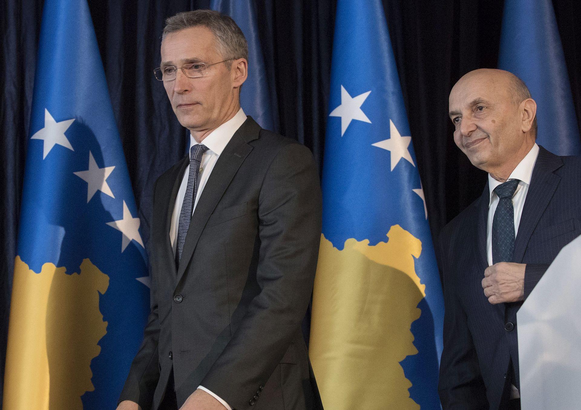Stoltenberg pozvao čelnike Srbije i Kosova da smanje napetosti