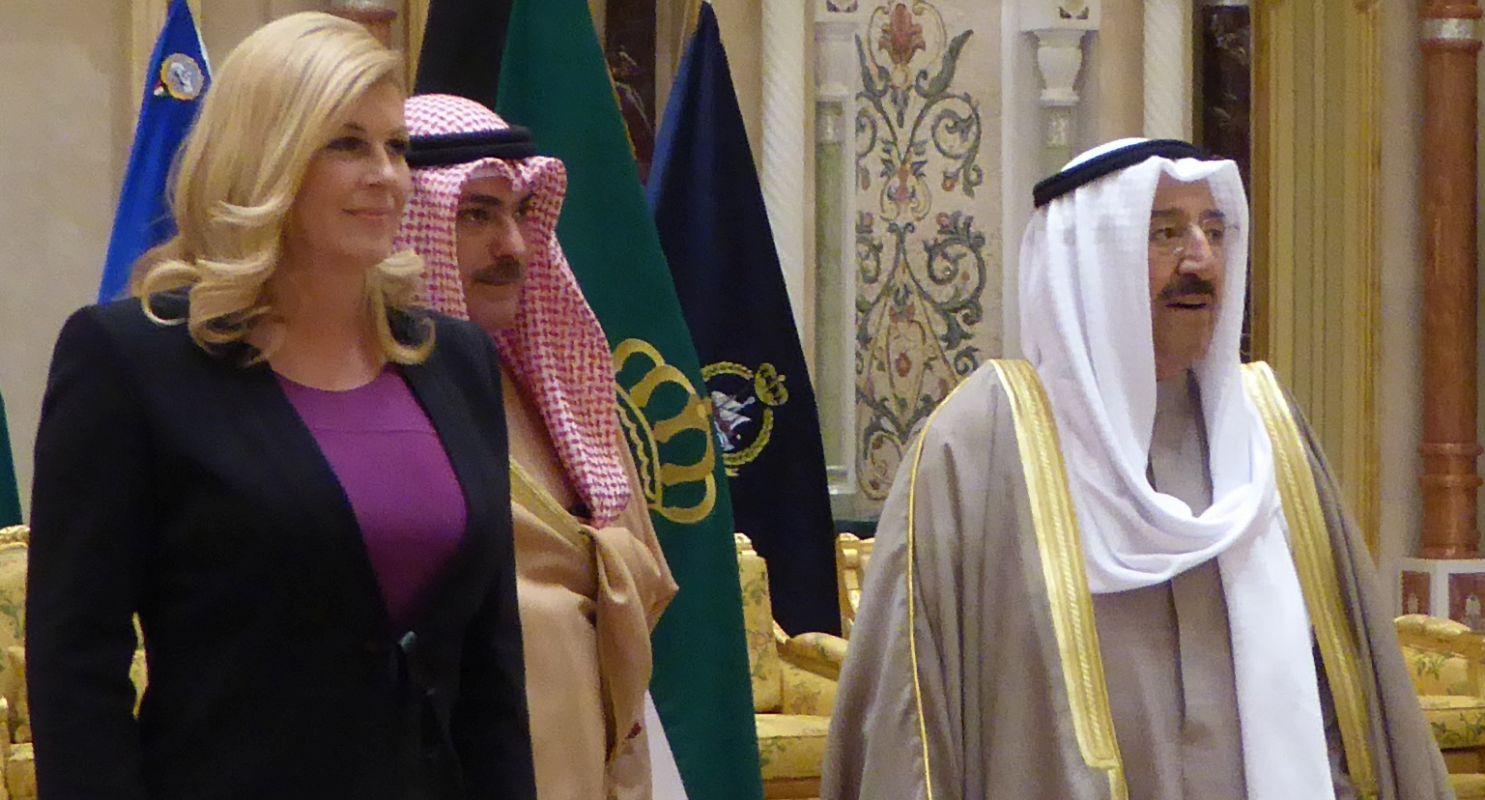 Grabar-Kitarović otvorila veleposlanstvo u Kuvajtu, posjet ocijenila 'iznimno korisnim'