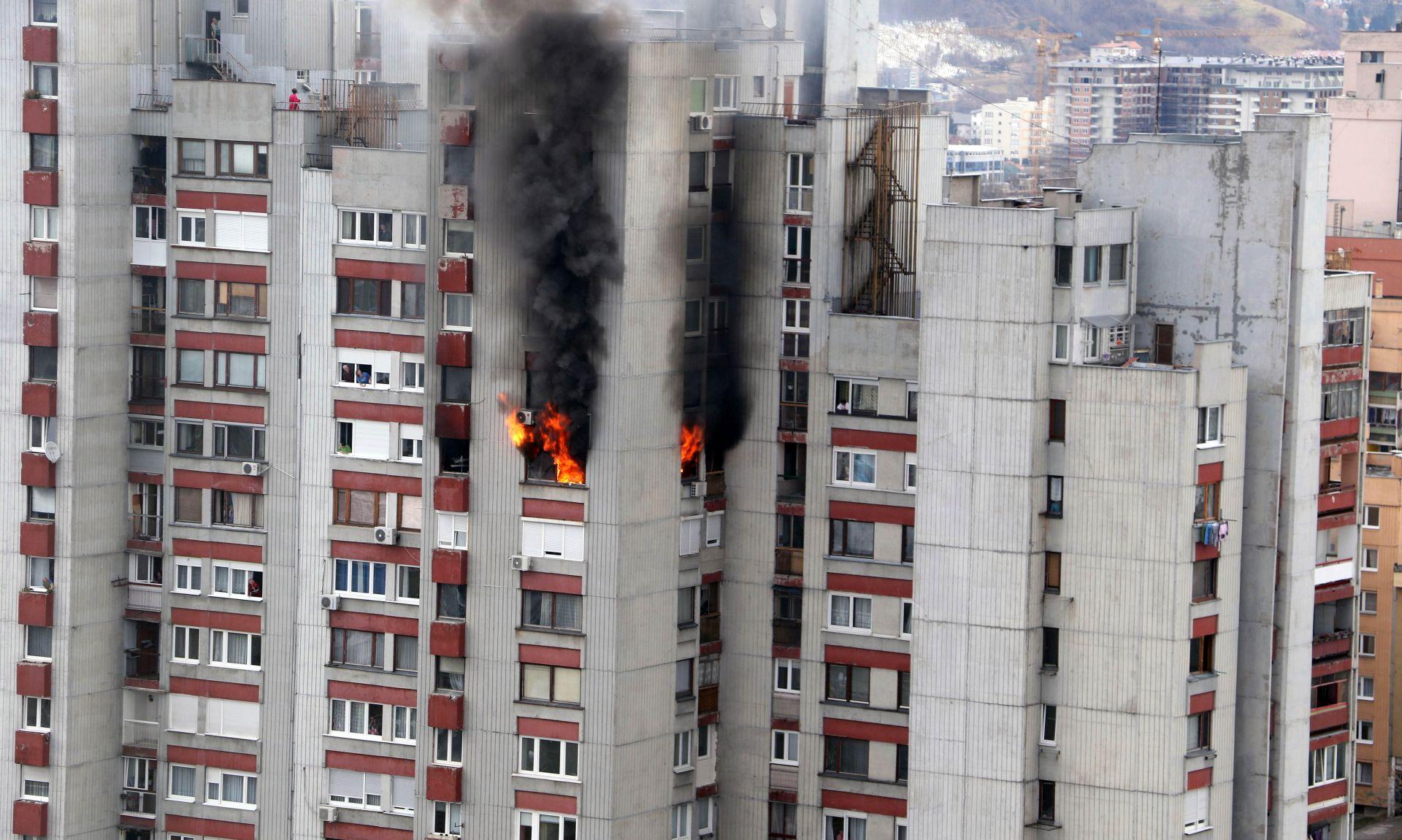 SARAJEVO Dvoje poginulih u požaru nakon eksplozije plinske boce