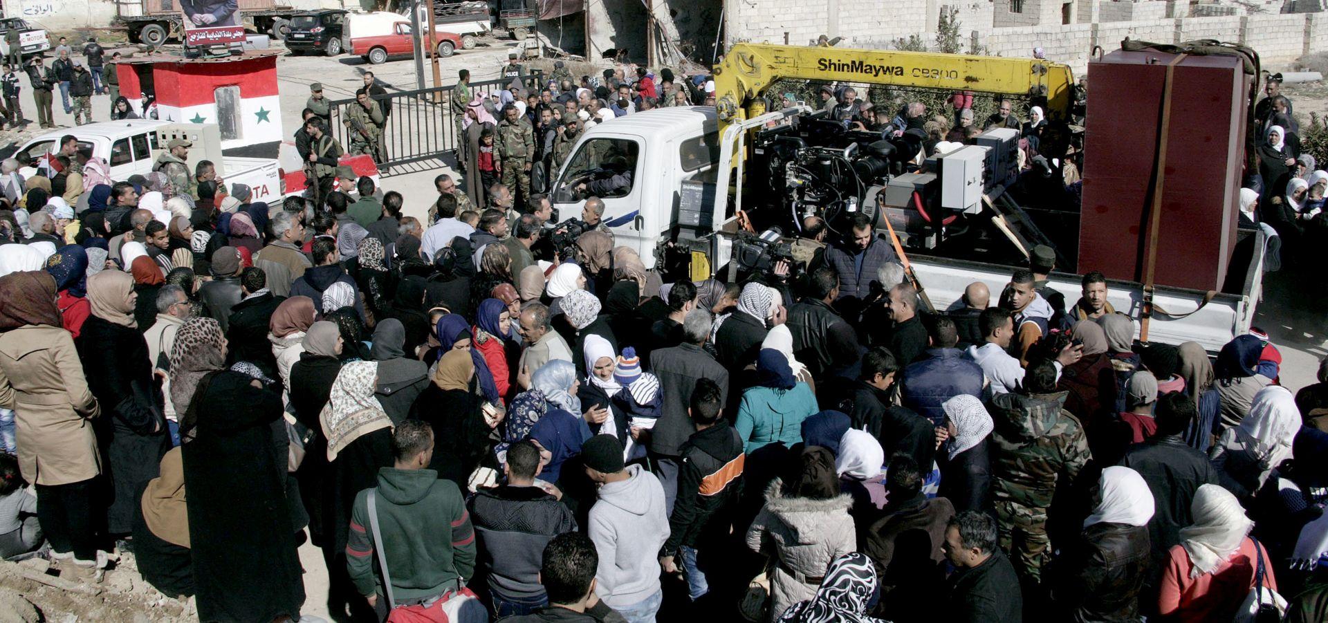 SIRIJA Stanje kaotično, UN pokušava pokrenuti mirovne pregovore