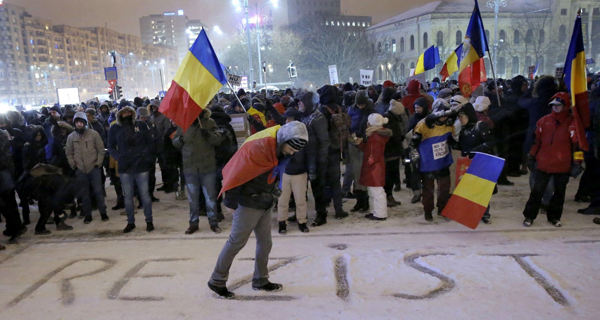Ostavka rumunjskog ministra pravosuđa nakon vala prosvjeda