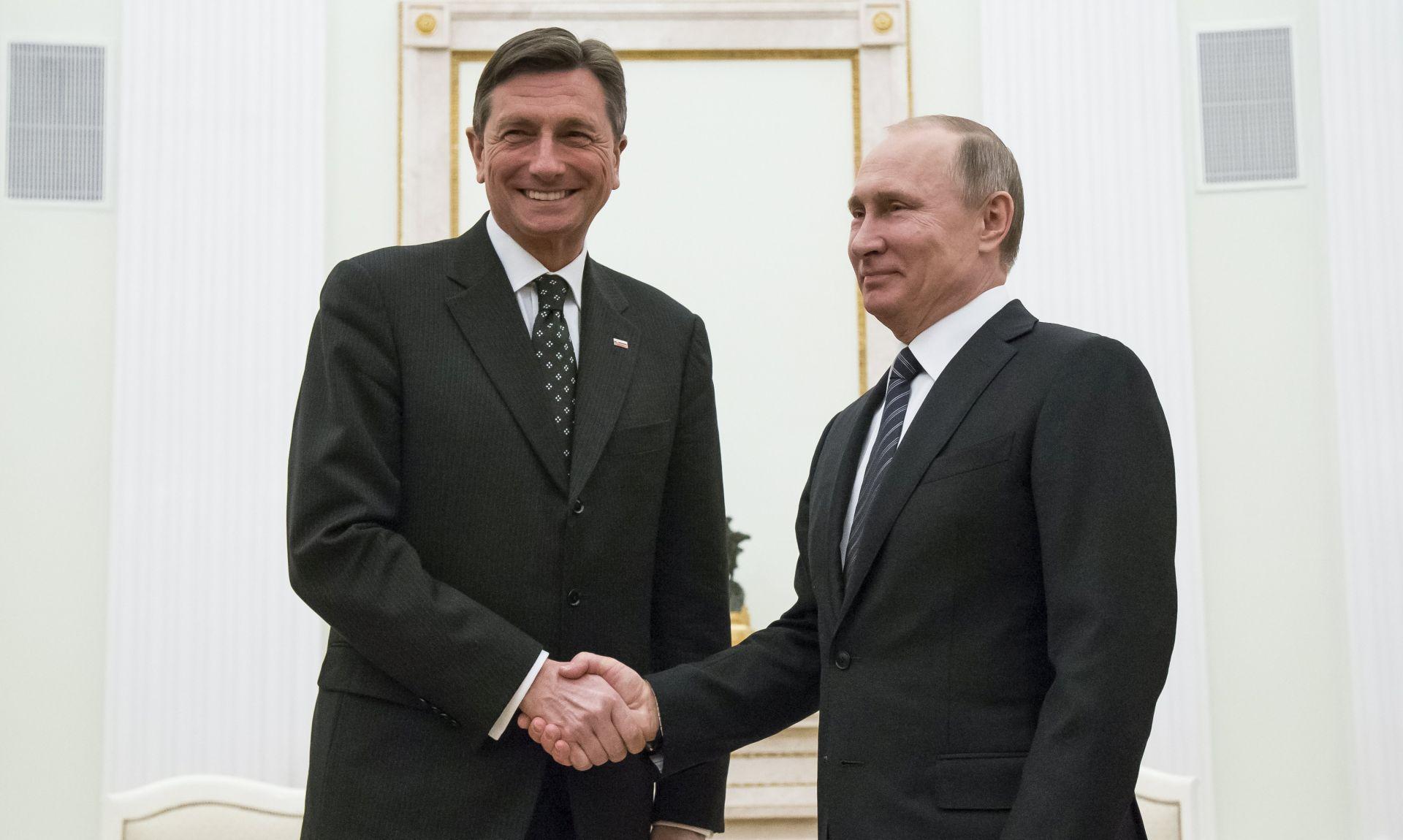 Pahor: Rusija očekuje zatopljenje odnosa sa SAD-om, Ukrajina će pričekati