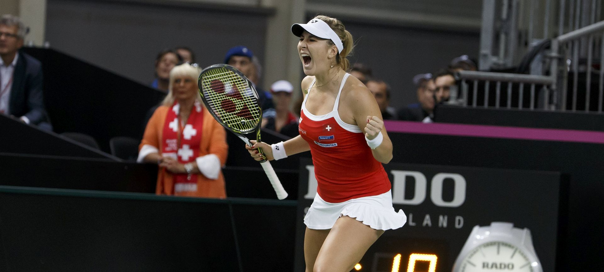 FED CUP Belinda Benčić odvela Švicarsku u polufinale