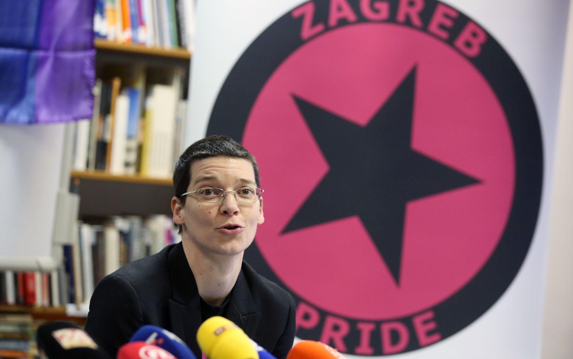UŽIVO: Prosvjed u organizaciji Zagreb Pridea