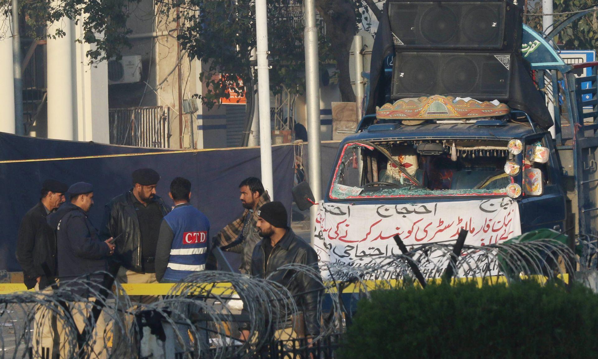 Eksplozija u Lahoreu, najmanje sedam mrtvih