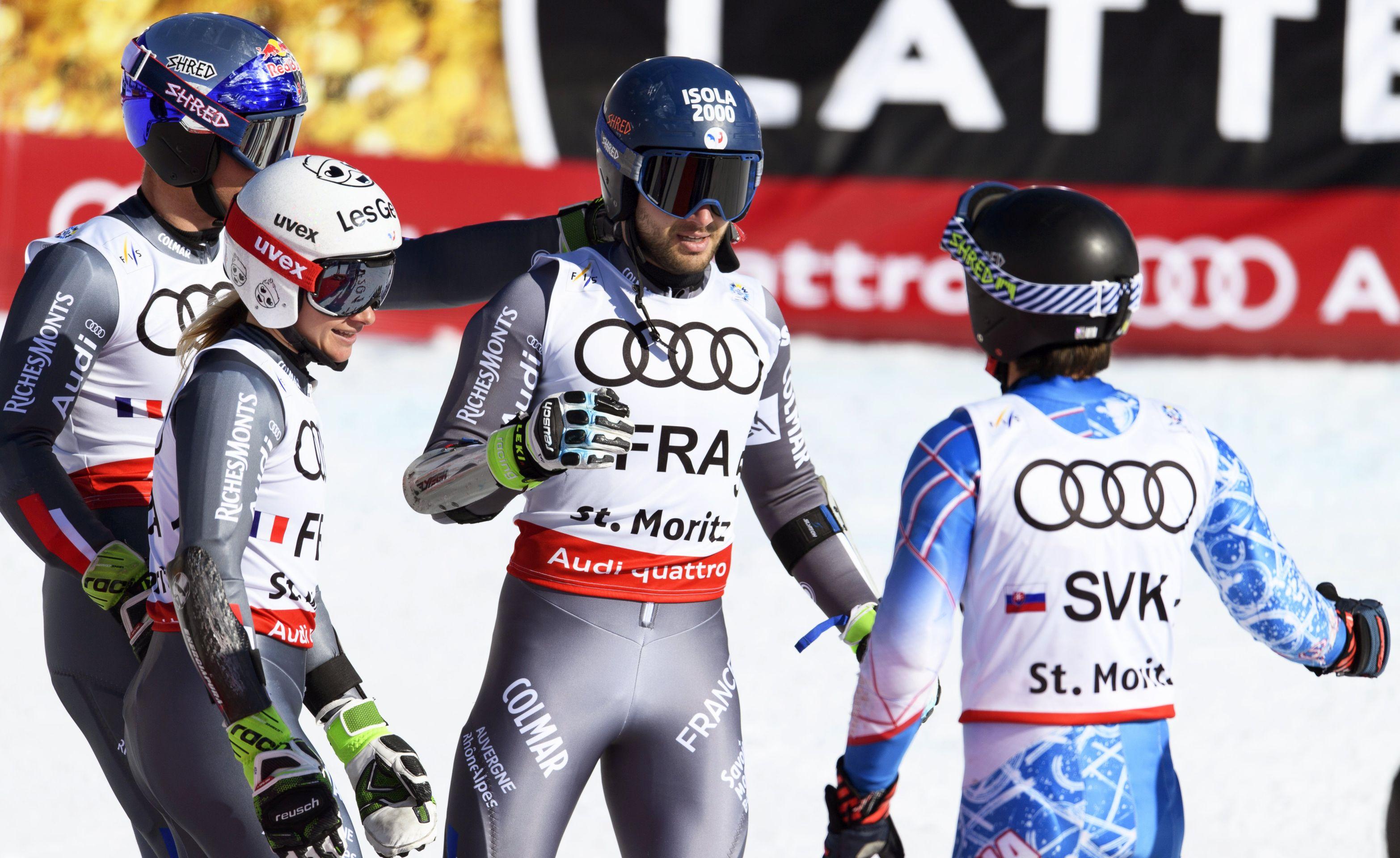 SP, SKIJANJE Francuska zlatna u paralelnom slalomu