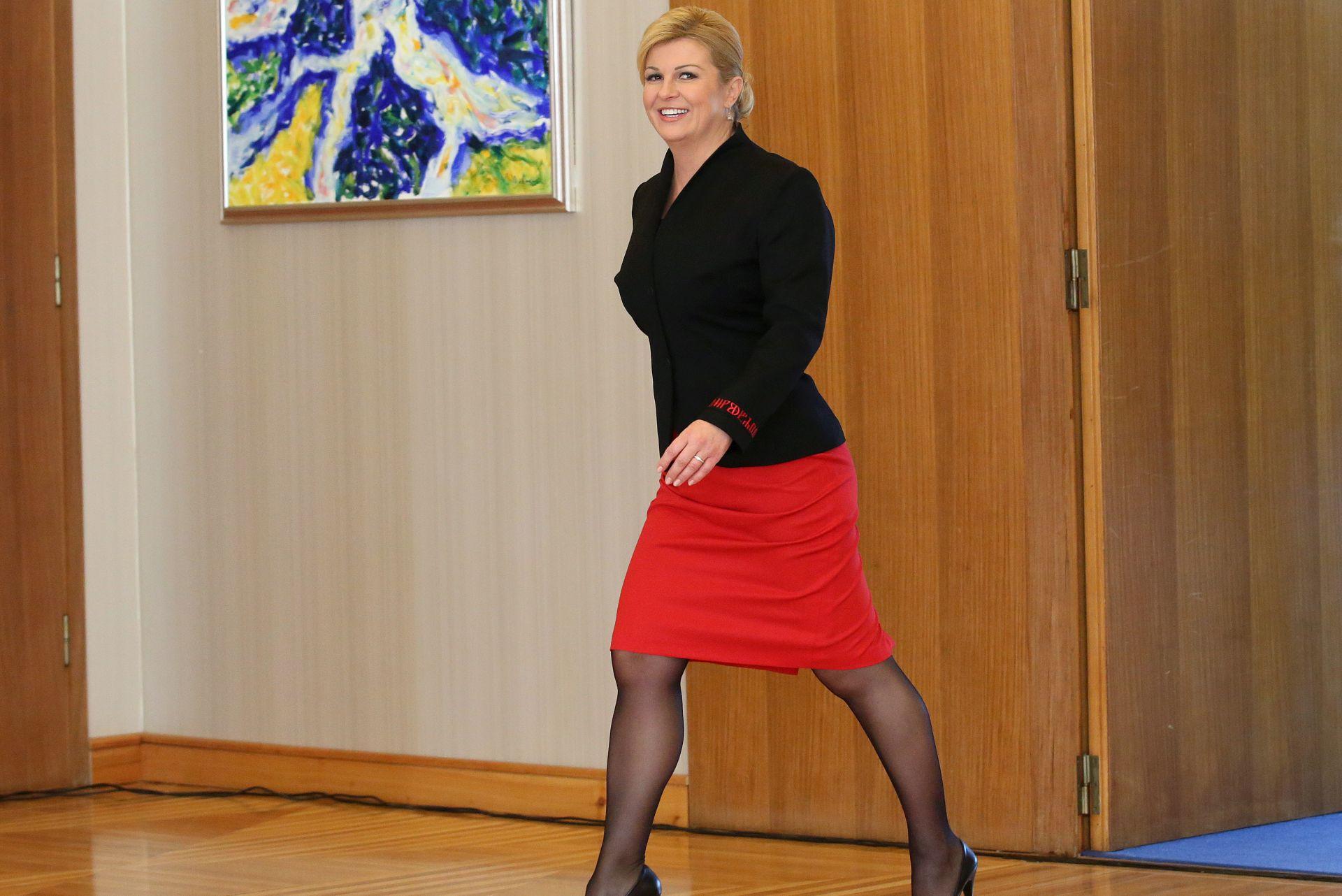 Grabar-Kitarović miješanje Rusije nazvala prijetnjom proširenju EU-a i NATO-a