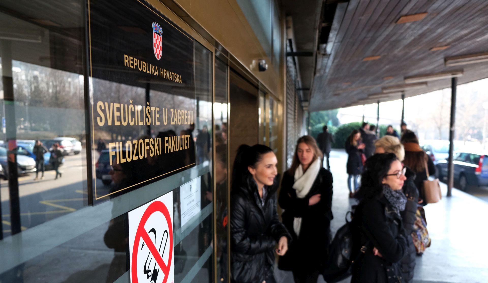 Konstituirano vijeće Filozofskog fakulteta odradilo 400-tinjak imenovanja u zvanja