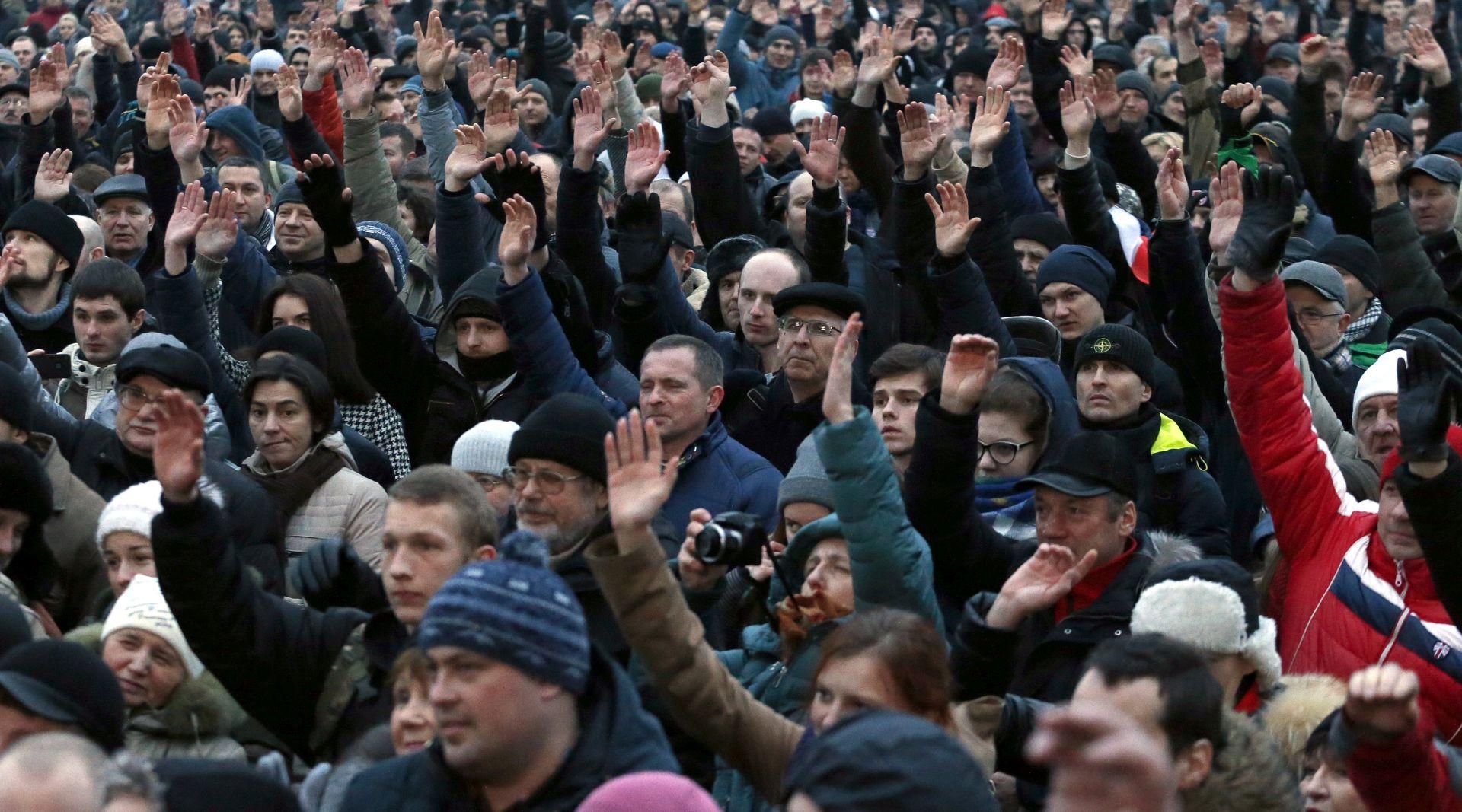 Bjelorusi prosvjeduju protiv poreza