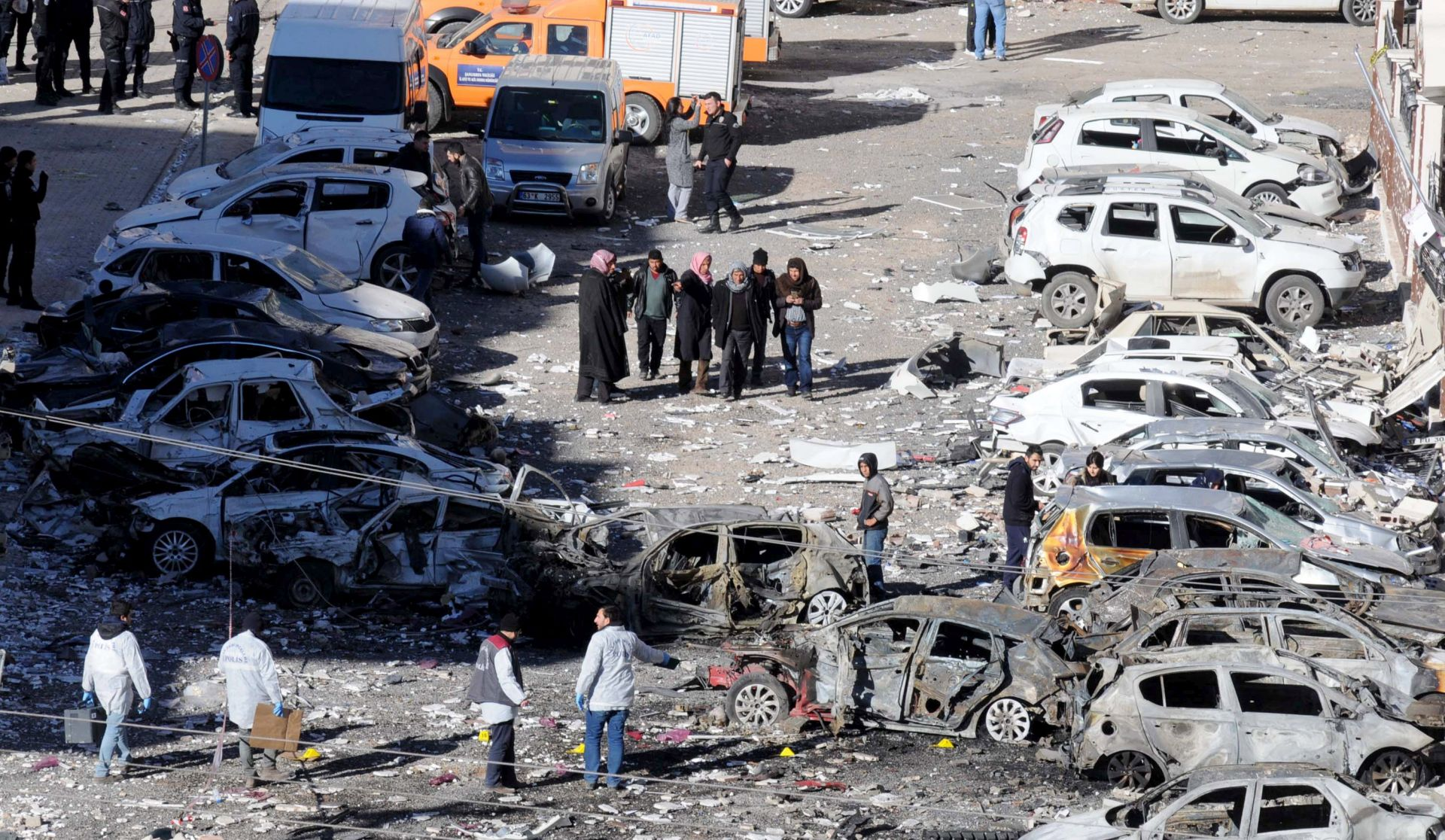 Turska pritvorila 26 osoba nakon eksplozije automobila bombe
