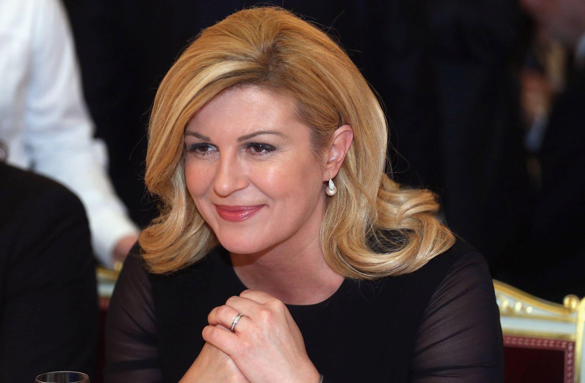 Predsjednica Grabar Kitarović odlikovala Milku Zadro
