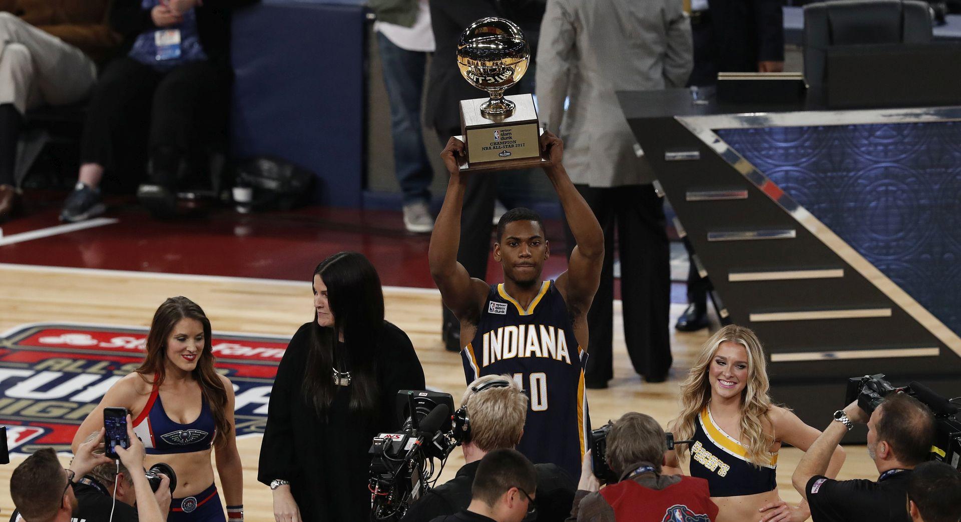 NBA ALL STAR Robinson III pobjednik u zakucavanju, Gordon u tricama