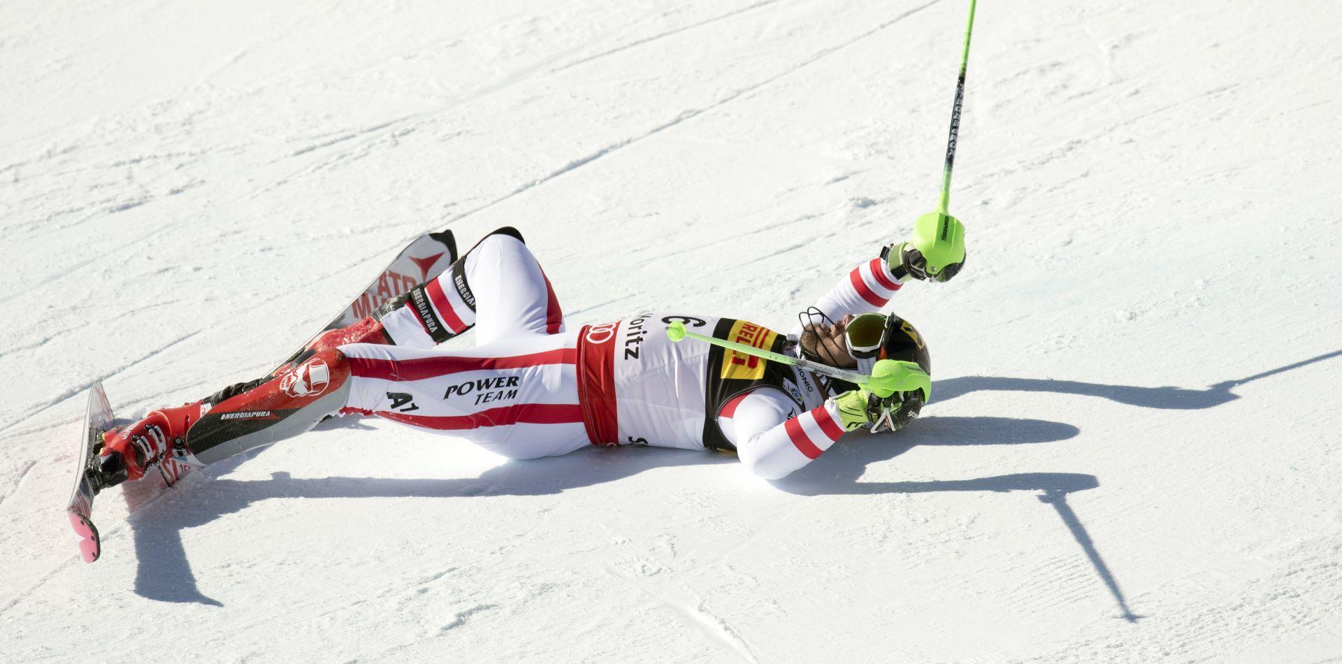 SVJETSKO PRVENSTVO: SLALOM Drugo zato za Hirschera, Kostelić se oprostio sa 38. mjestom