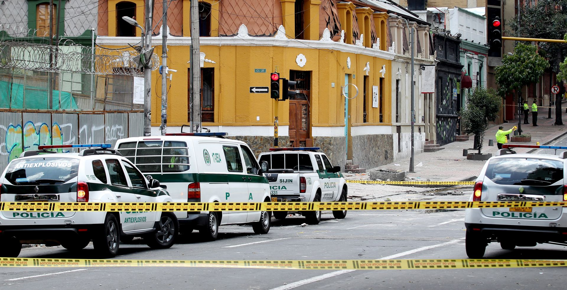 EKSPLOZIJA U BOGOTI Ozlijeđeno najmanje 40 osoba, među njima najviše policajaca