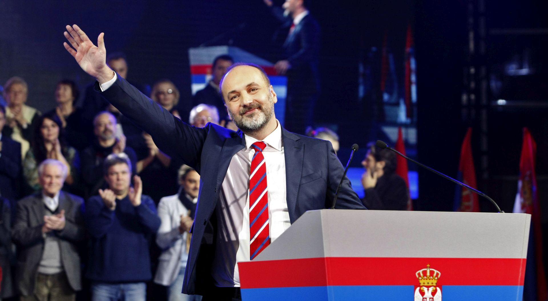 Janković na početku kampanje za predsjednika Srbije: 'Nećemo biti zemlja podanika'