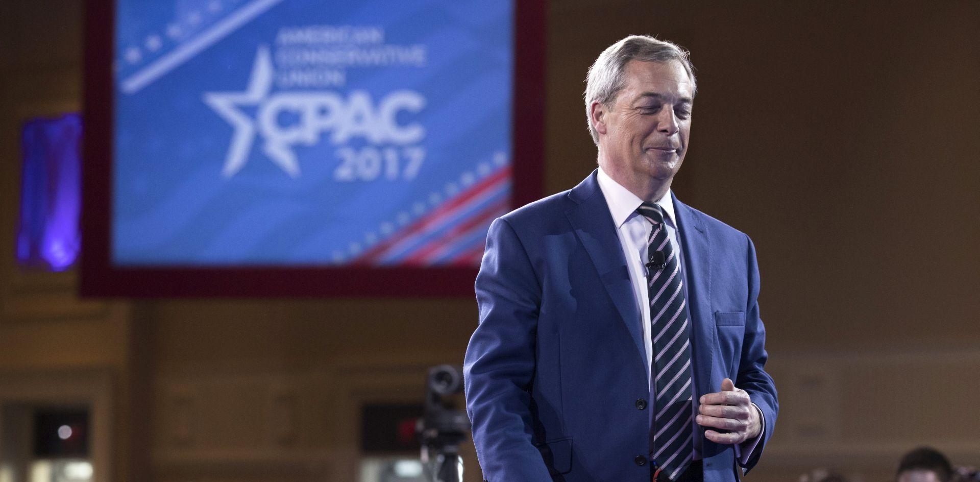 Nigel Farage američkim konzervativcima: '2016. je samo početak'