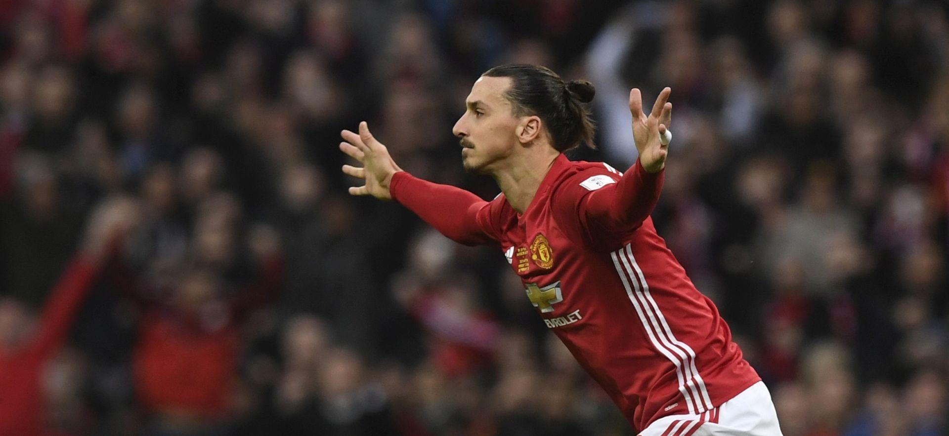 LIGA KUP Manchester Unitedu trofej, dva gola Zlatana Ibrahimovića