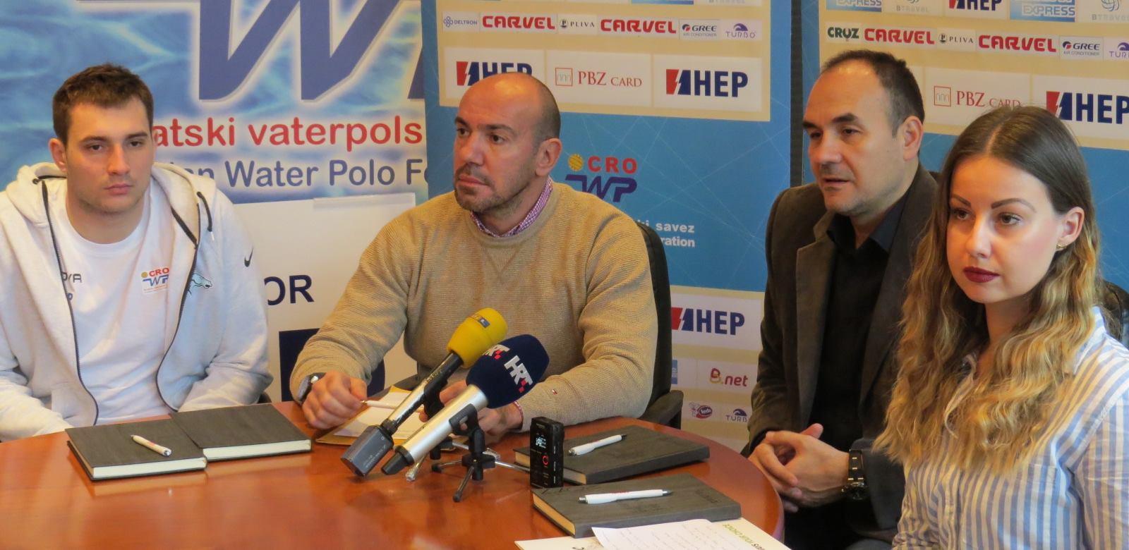 Diadora i Rider novi sponzori Hrvatske vaterpolske reprezentacije
