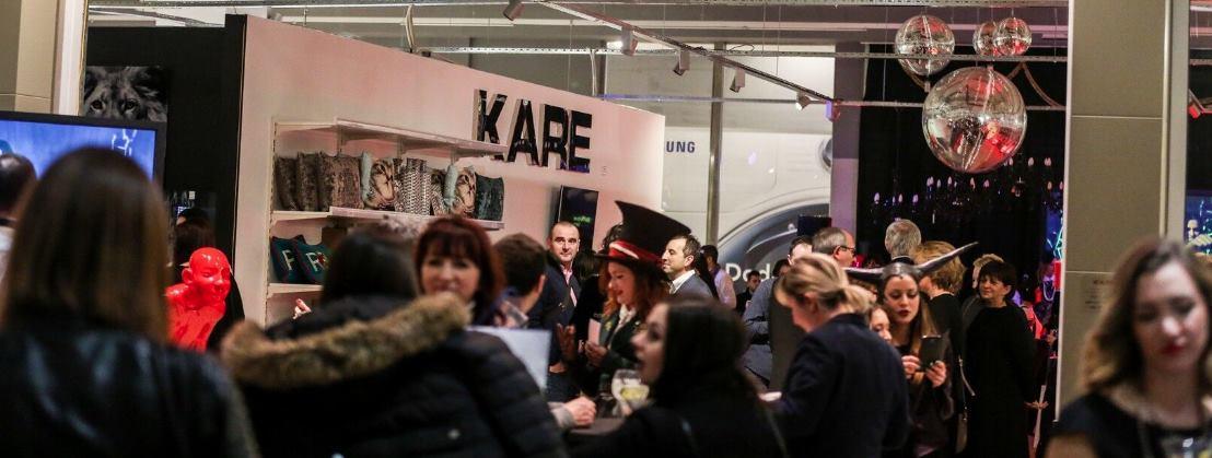 FOTO: Njemački proizvođač dizajnerskog namještaja KARE otvorio trgovinu u Zagrebu