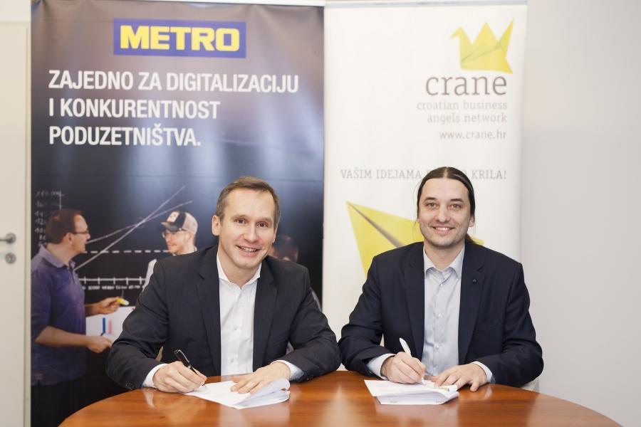 Marc Carena (METRO) i Davorin Stetner (CRANE)