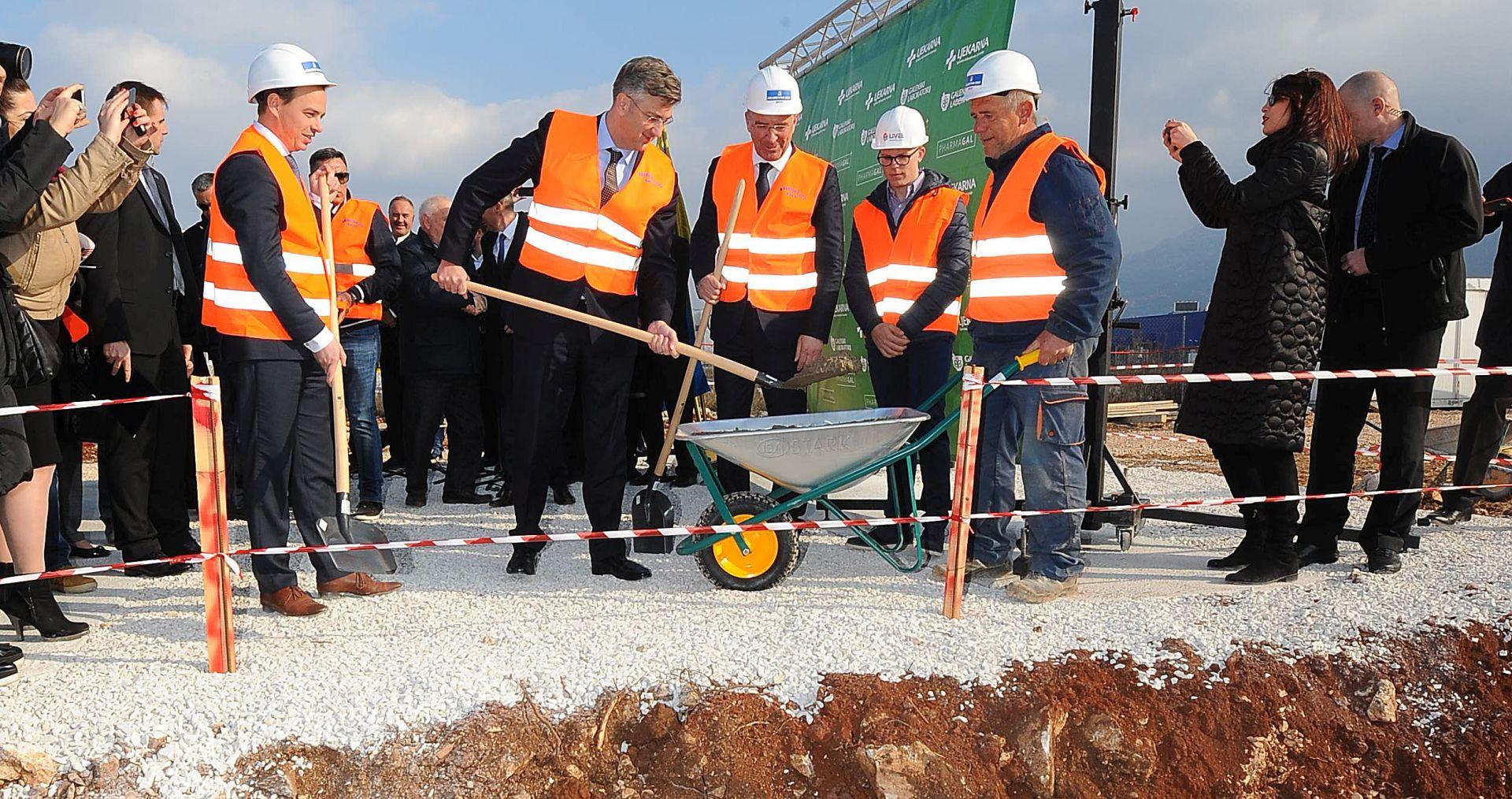 GZ PODI: Položen kamen temeljac Galensko-analitičkog laboratorija u Dugopolju
