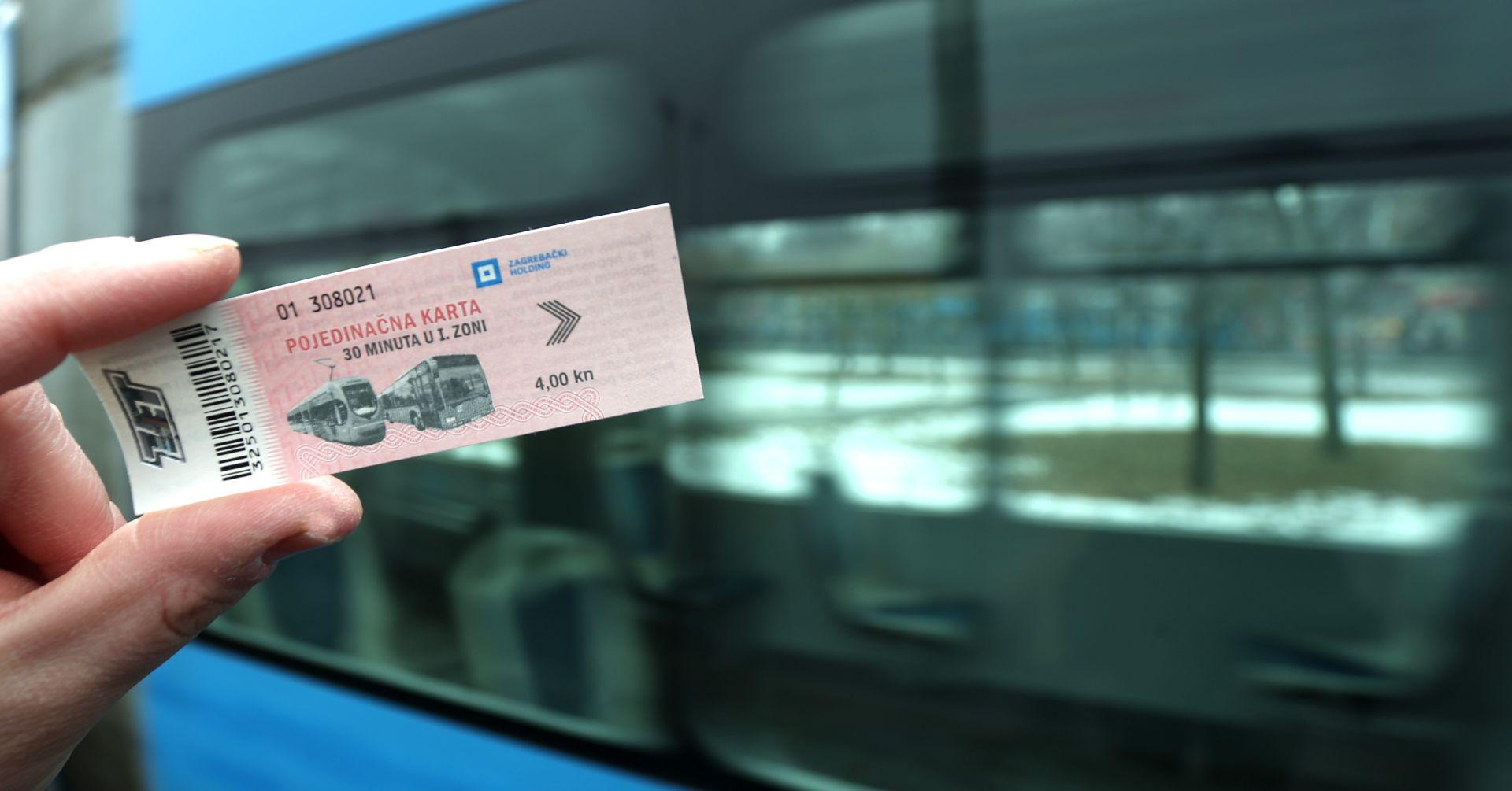 ZET: Vozna karta od četiri kune više nego dobro prihvaćena